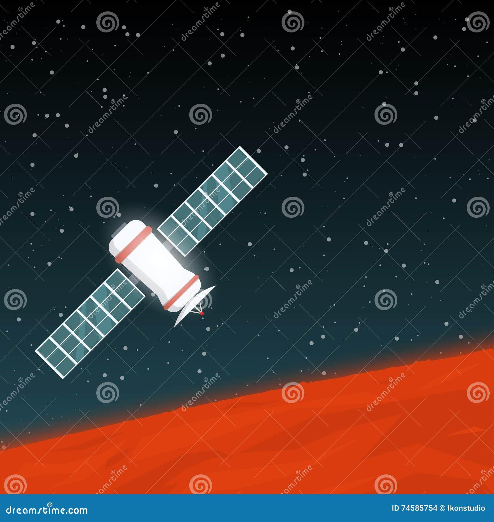 Punta de prueba de espacio de Marte