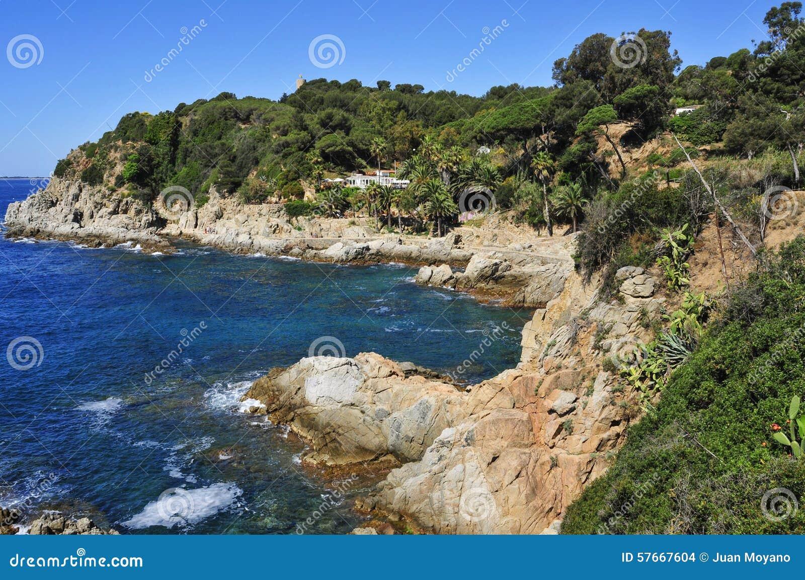 Punta melina Rosaris w Lloret De Mar, Hiszpania