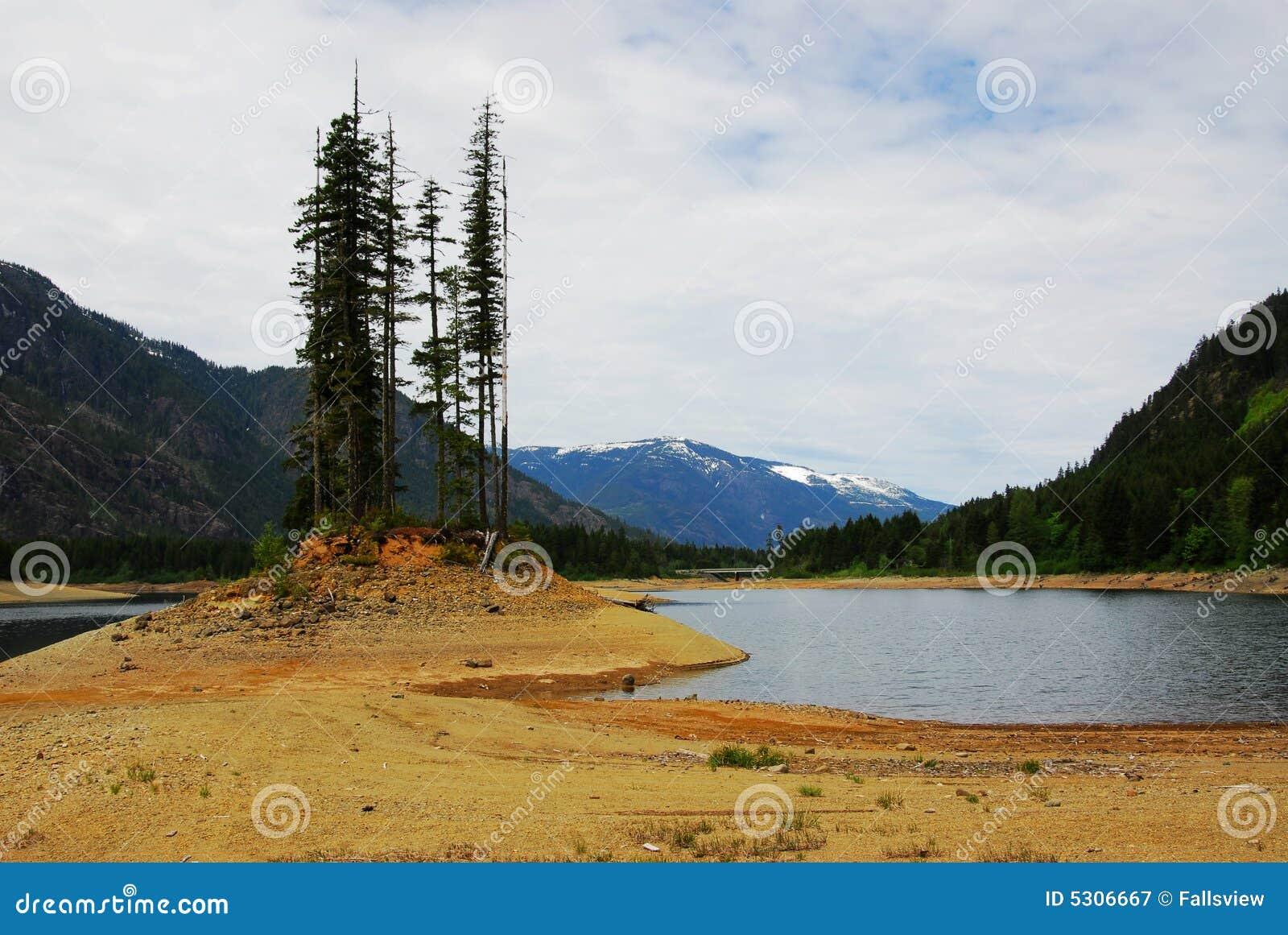 Download Puntello del lago Buttle immagine stock. Immagine di foresta - 5306667