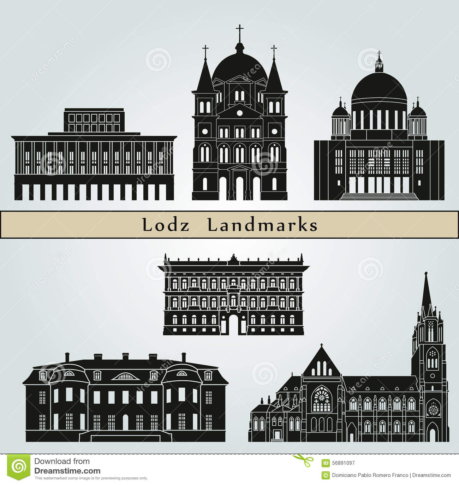 Punti di riferimento di Lodz