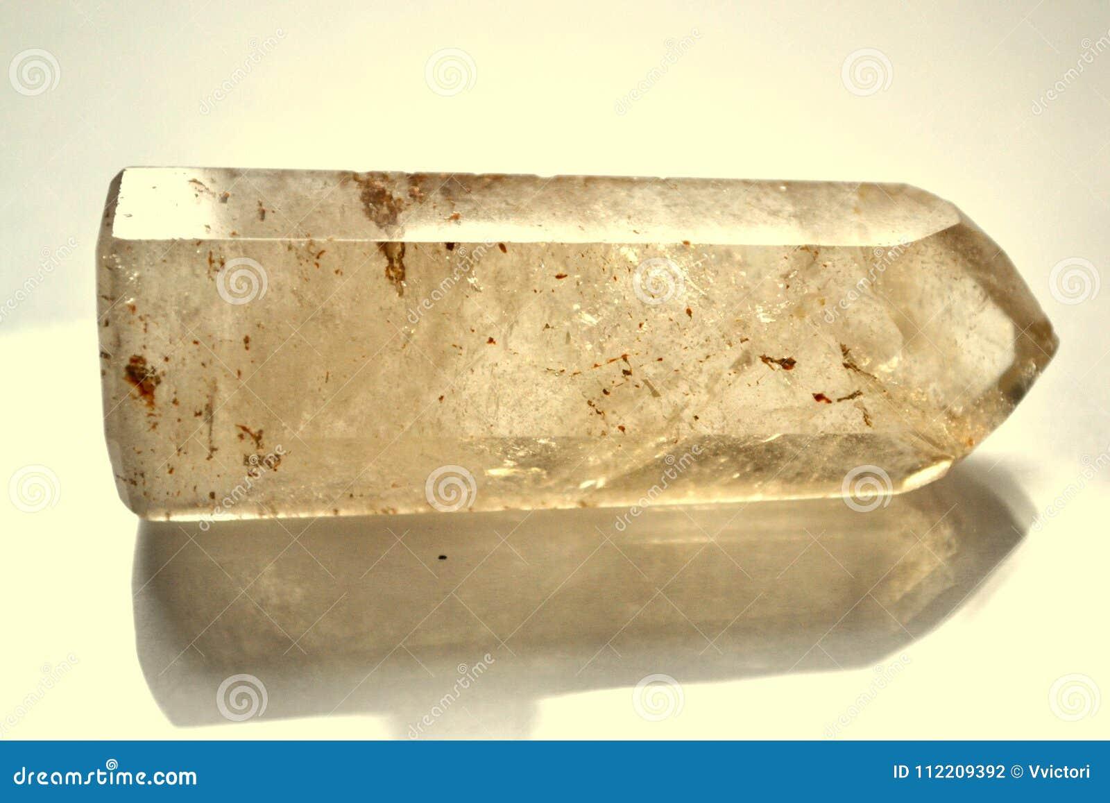 Punto citrino Crystal Gemstone di pietra naturale