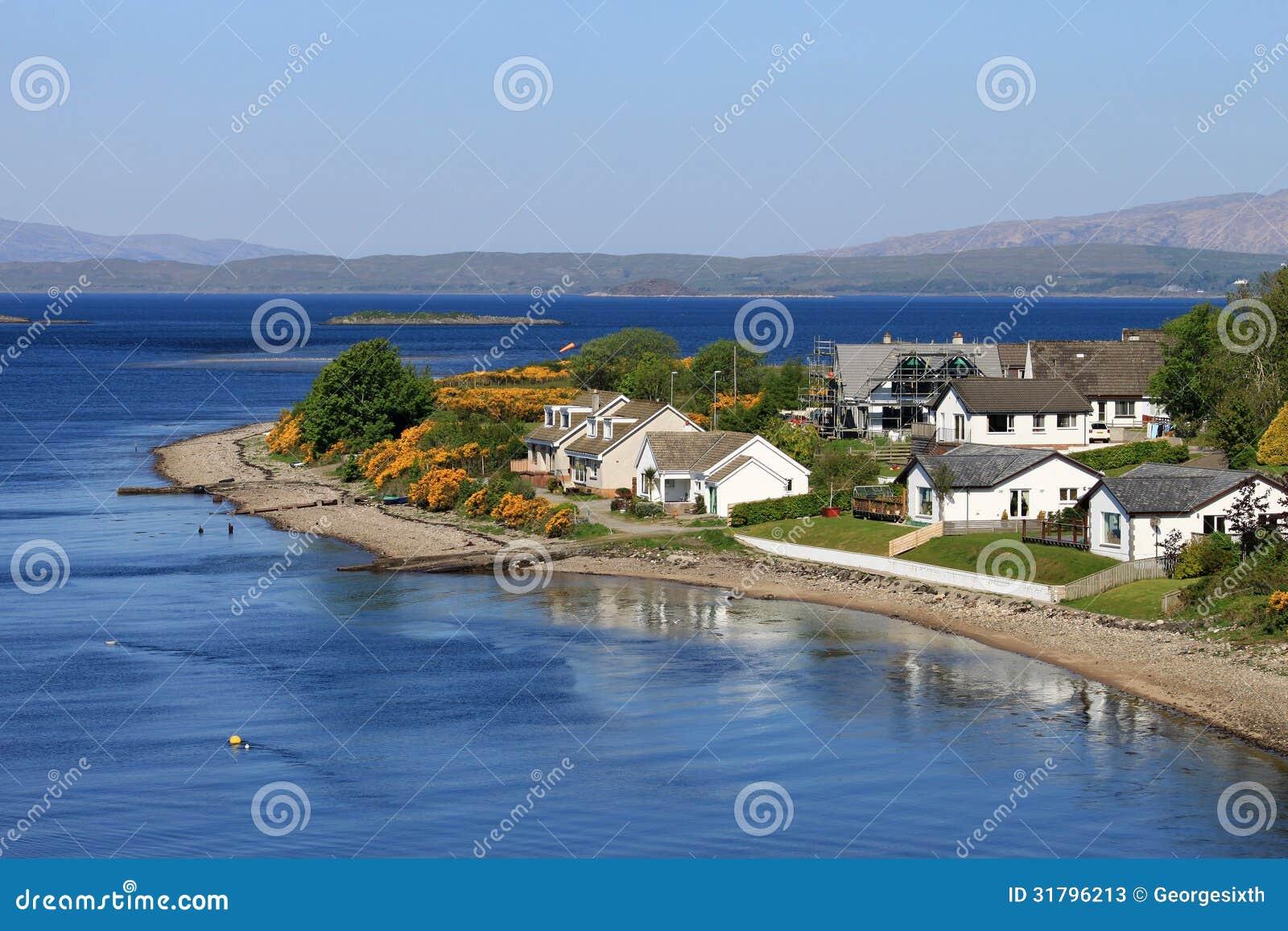 Punto de Ledaig, Lynn de la isla abandonada y de Lismore