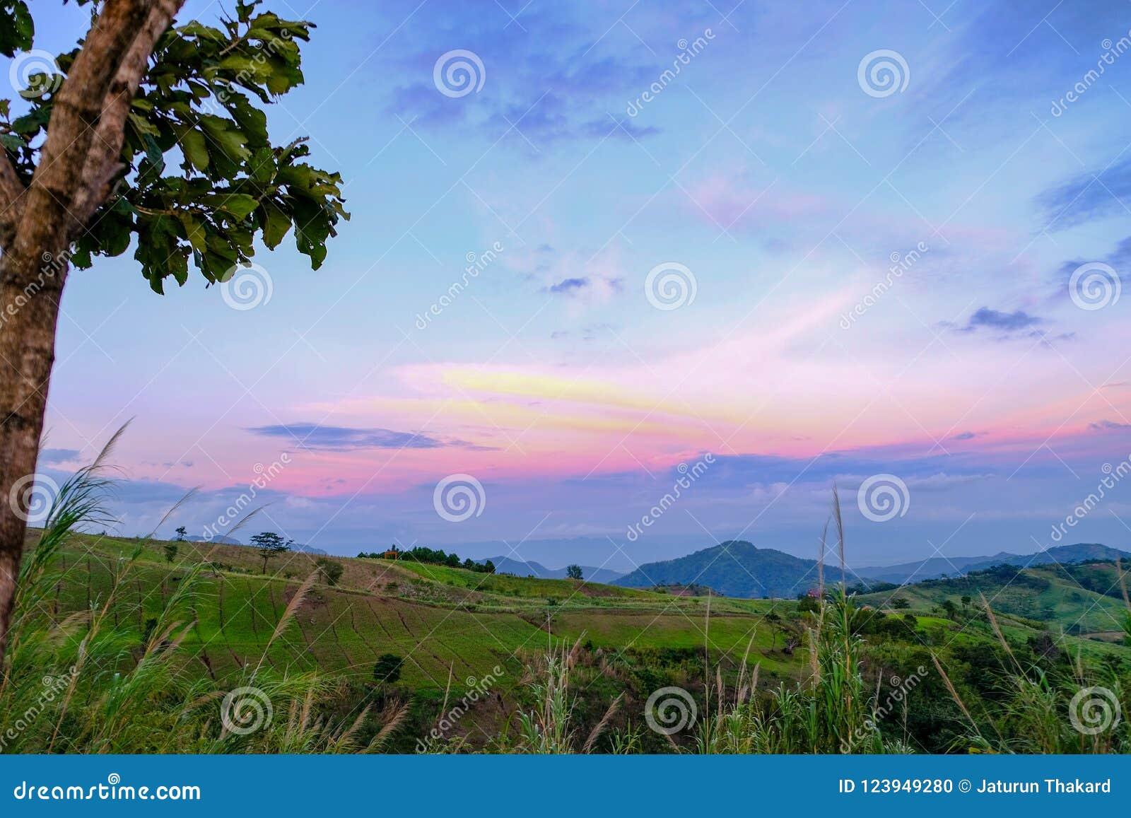 Punto de vista Khao Kho Phetchabun Tailandia