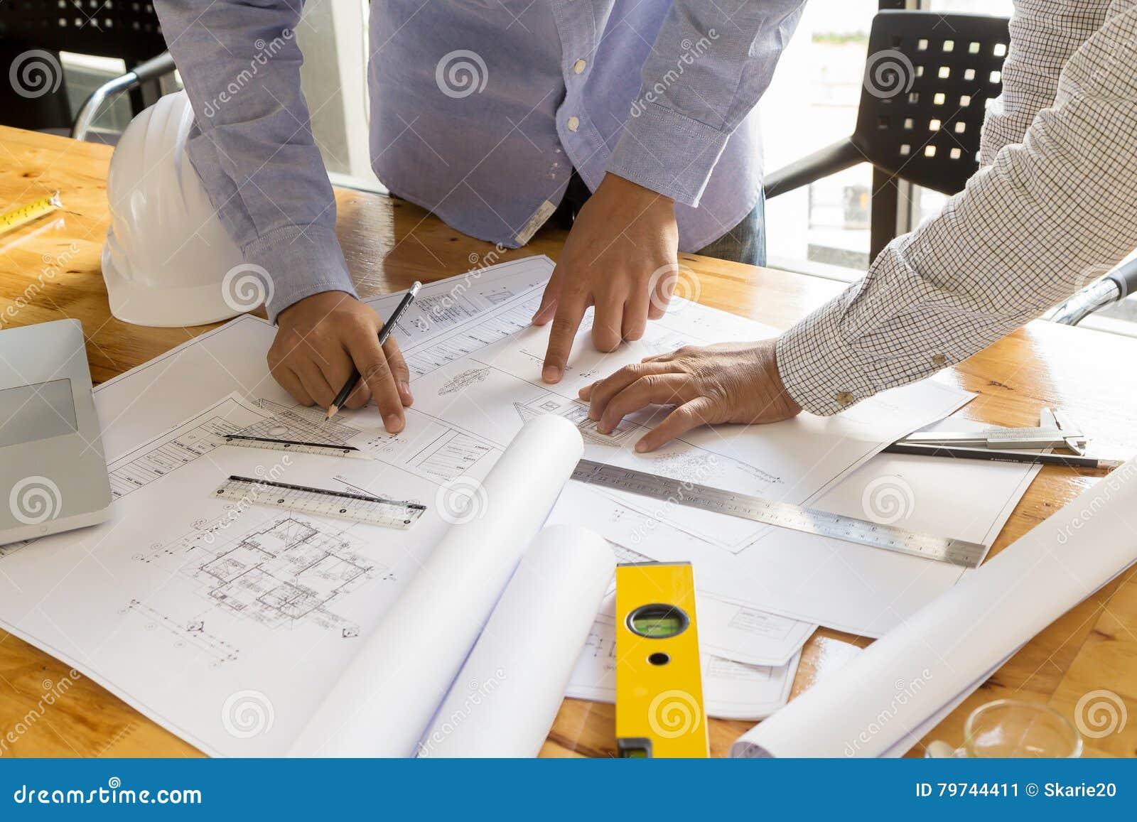 Punto del arquitecto en el modelo