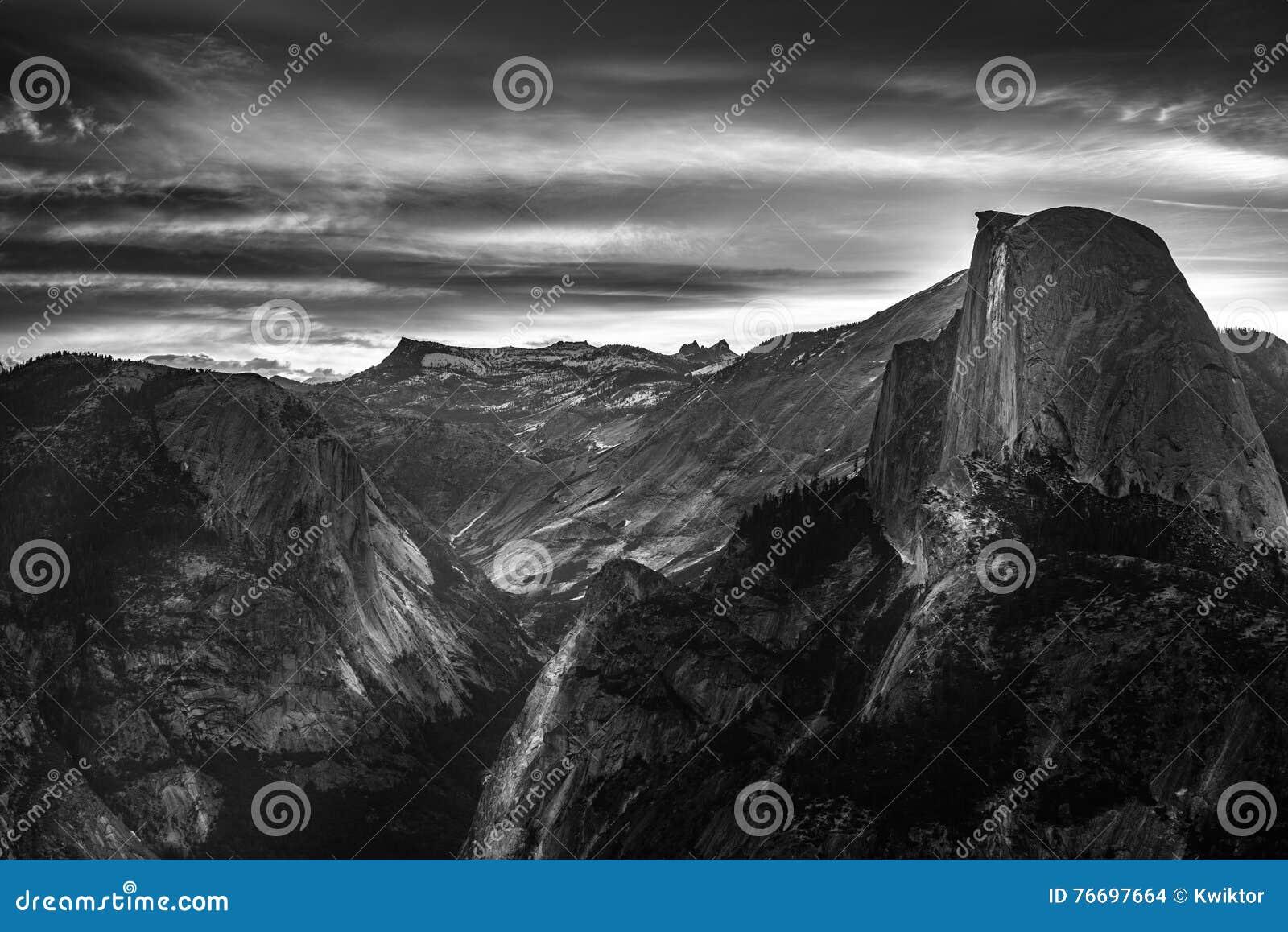 Punto del ghiacciaio di alba di parco nazionale di for Cabine di alloggio del parco nazionale di yosemite
