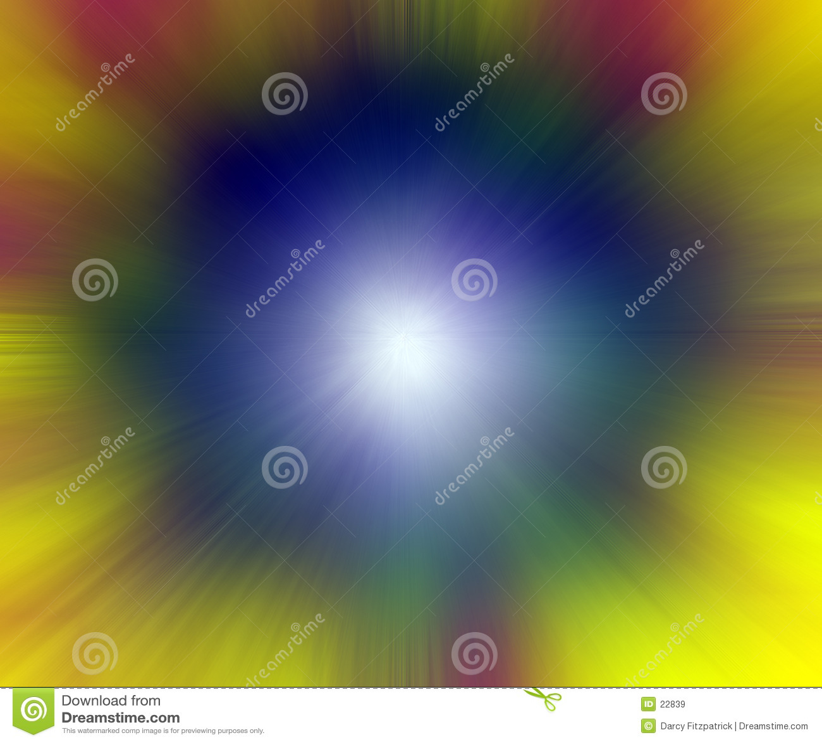 Punto di indicatore luminoso - colore d esplosione