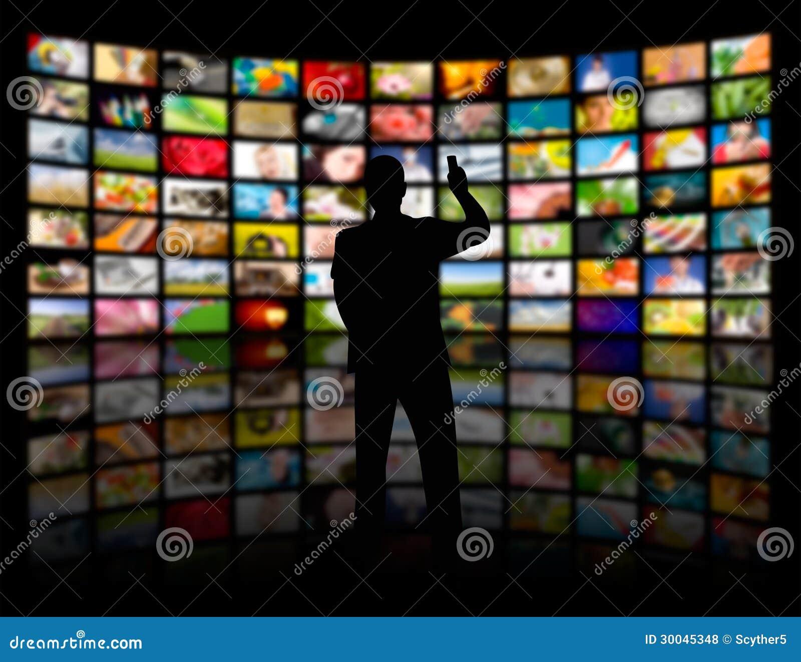Stanza di media