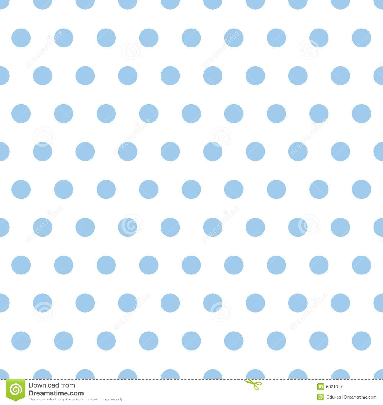 Puntos de polca del azul de bebé