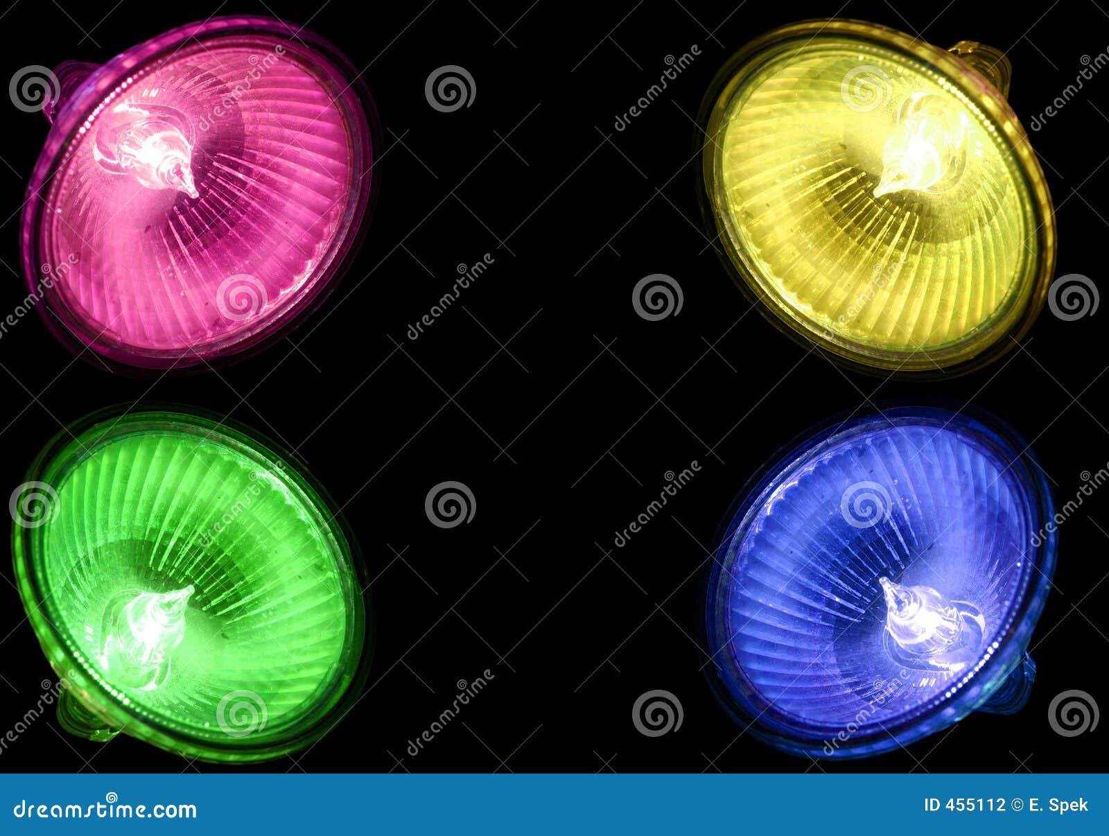 Puntos del halógeno de Colourfull