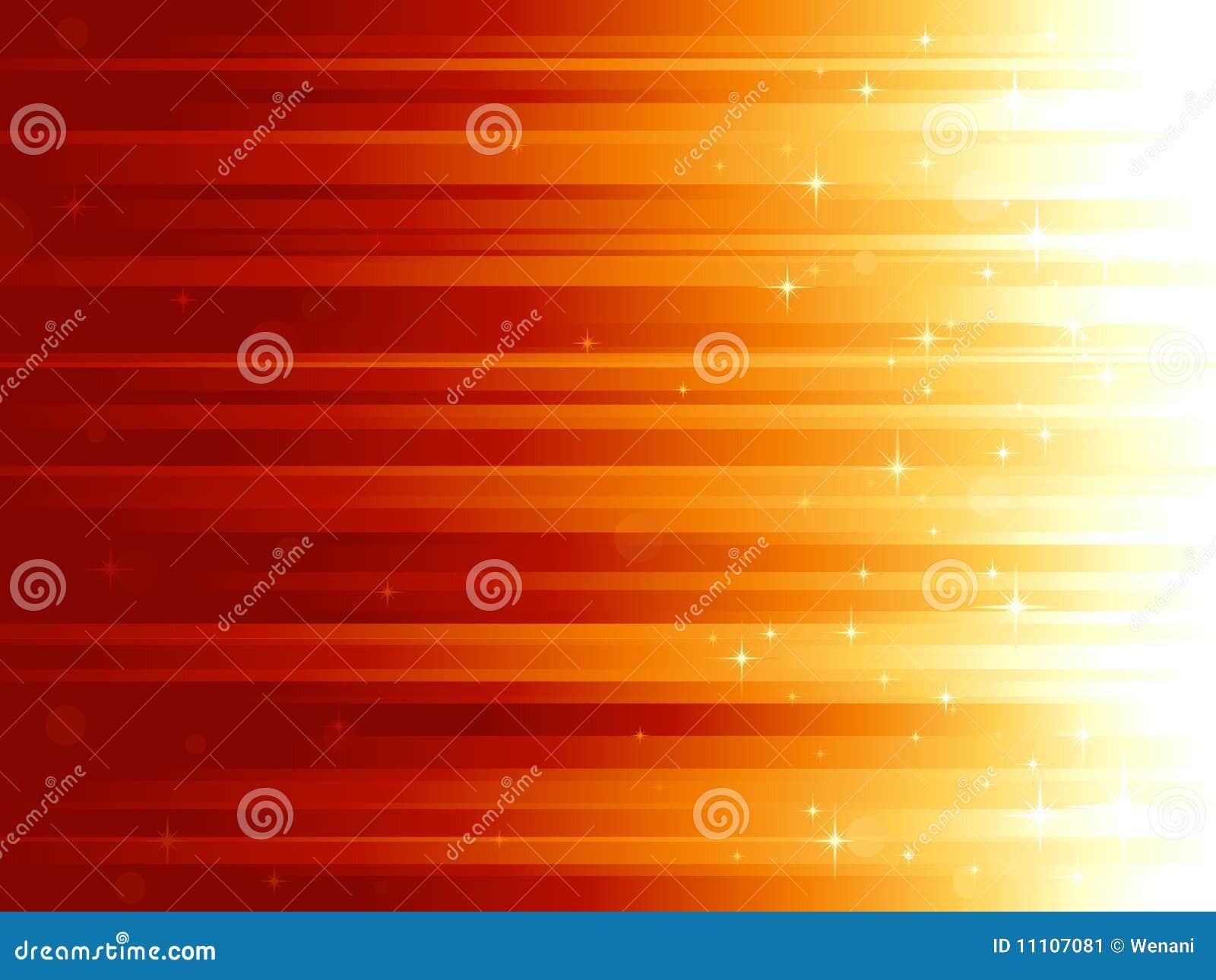 Puntos ligeros y estrellas en backg horizontalmente rayado