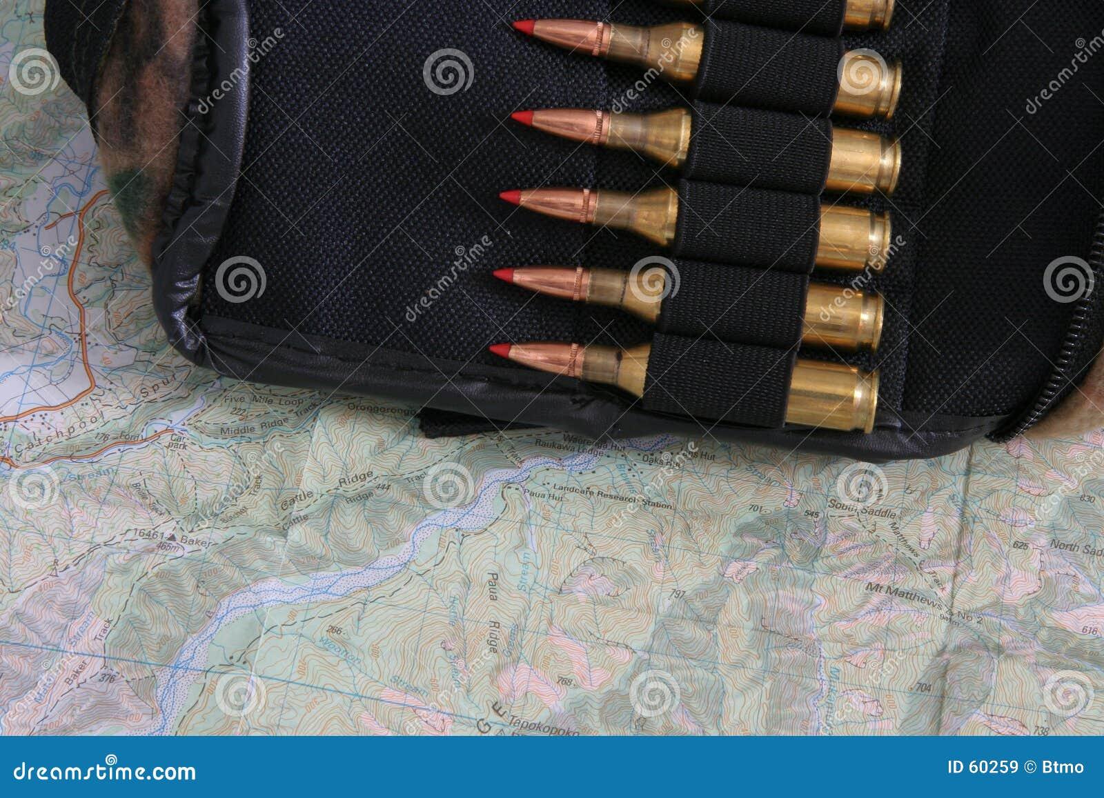 Puntos negros en una bolsa