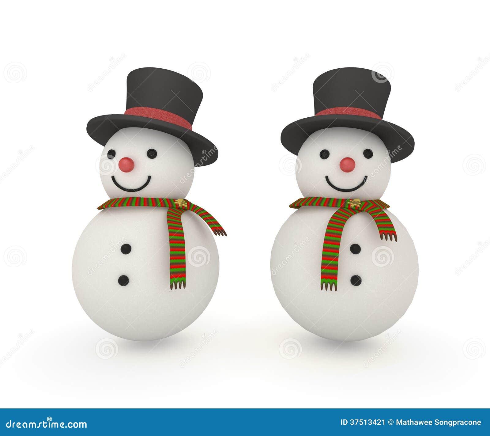 Pupazzo di neve sveglio che porta la sciarpa magica di natale e del cappello  con il percorso di ritaglio 849cf8e250aa