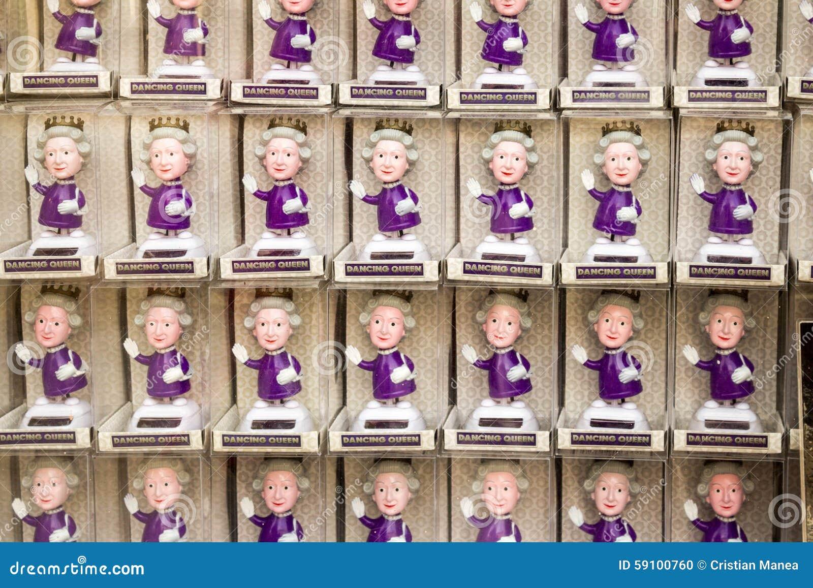 Puppen der Königin Elizabeth
