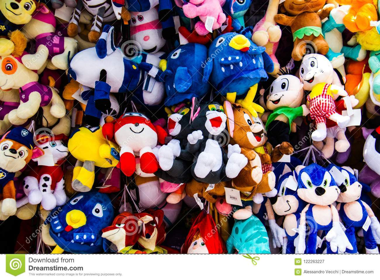 Puppet Toys Background Stock Image Image Of Color 122263227