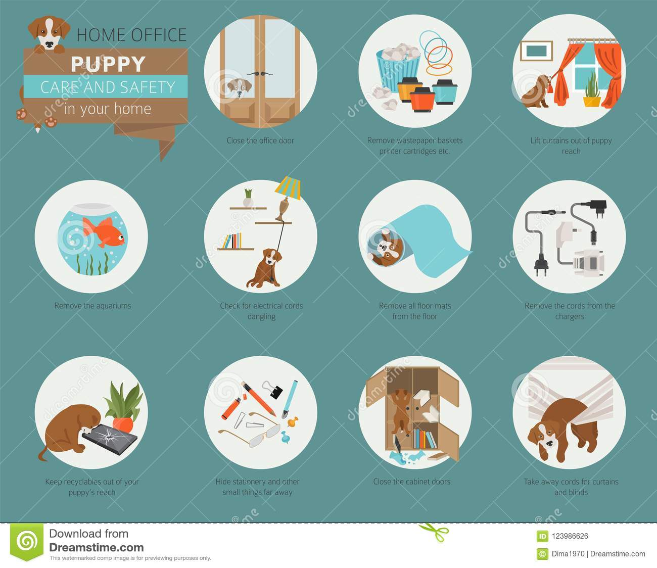 Puppy Care And Safety In Your Home  Home Office  Pet Dog Training