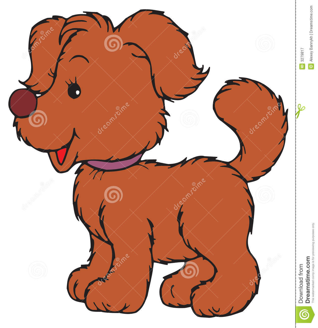 puppy vector clip art stock vector illustration of animal 3279817 rh dreamstime com clip art puppies free clip art puppy thank you picture