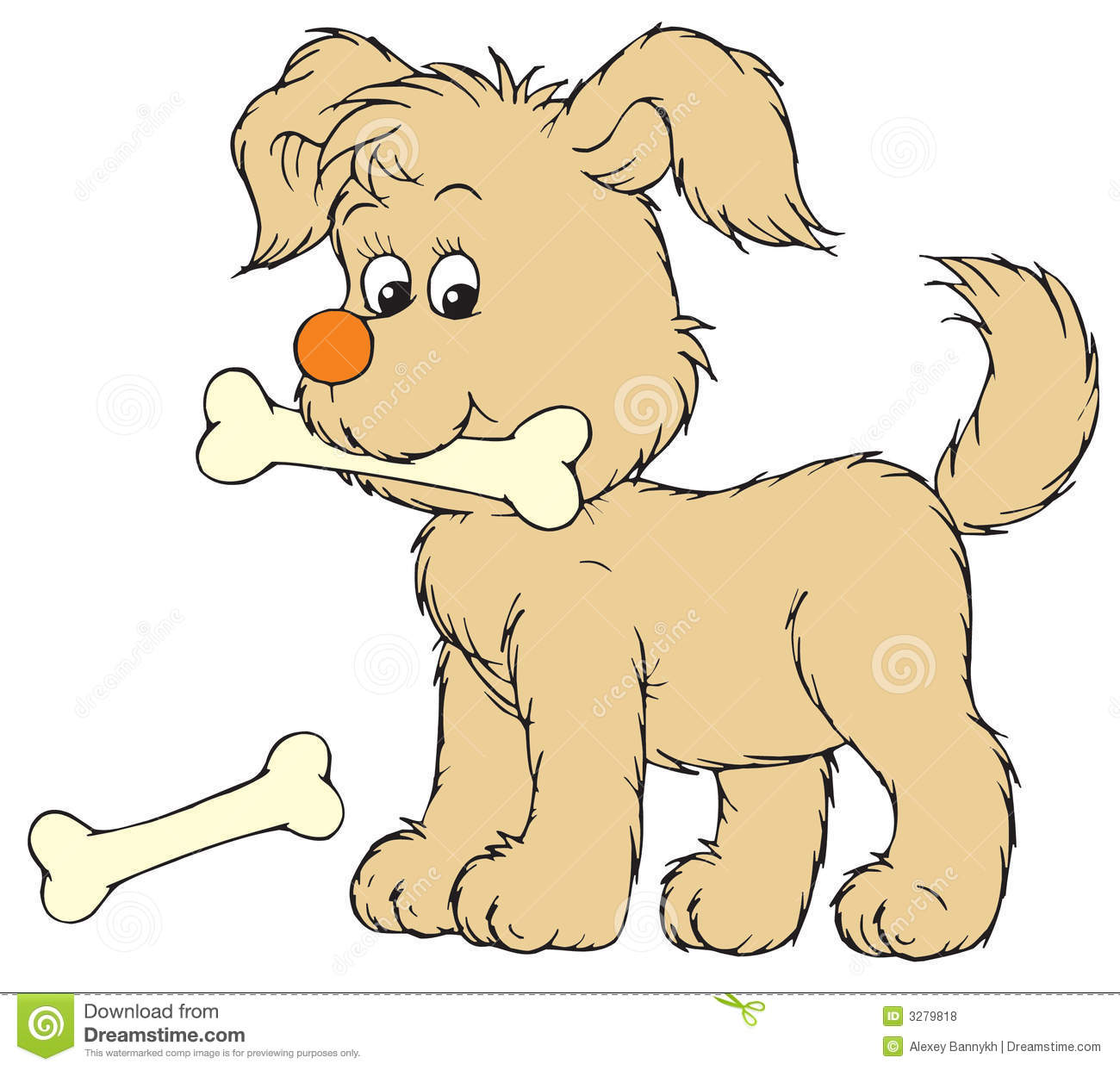 puppy vector clip art stock vector illustration of children 3279818 rh dreamstime com cute puppy clipart free puppy paw clipart free