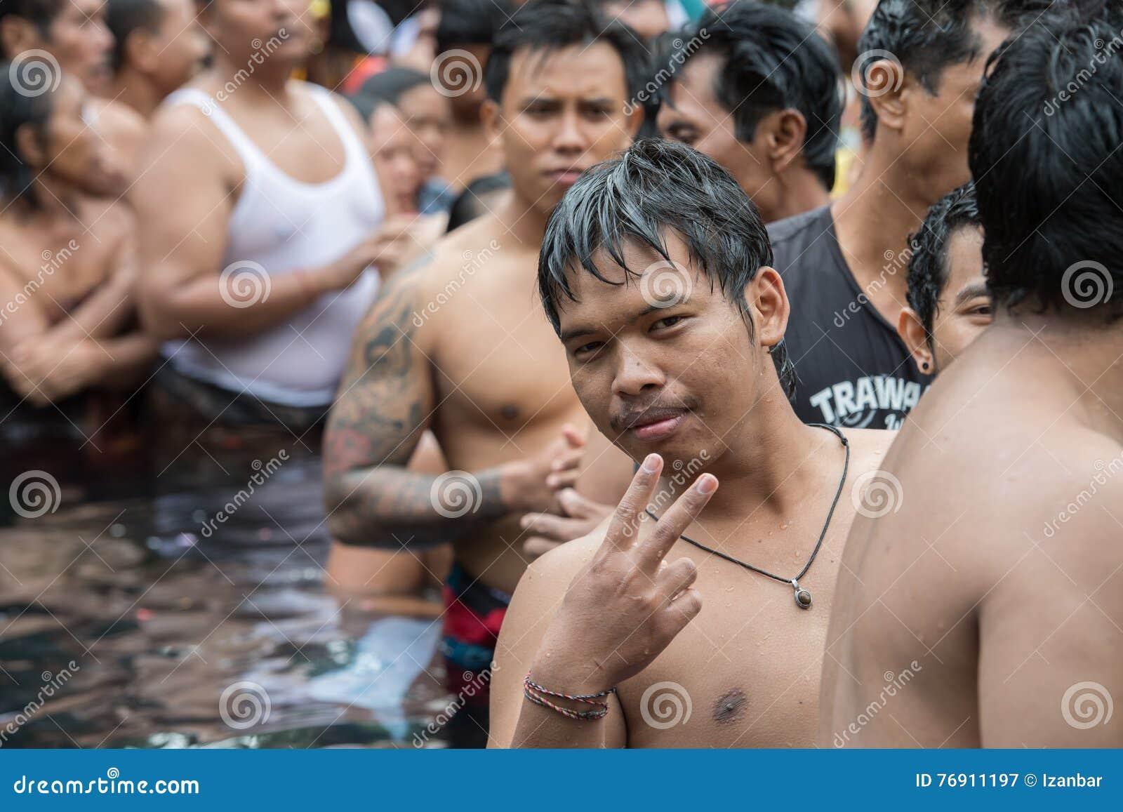 Pura Tirta Empul Bali Indonesia August 17 2016