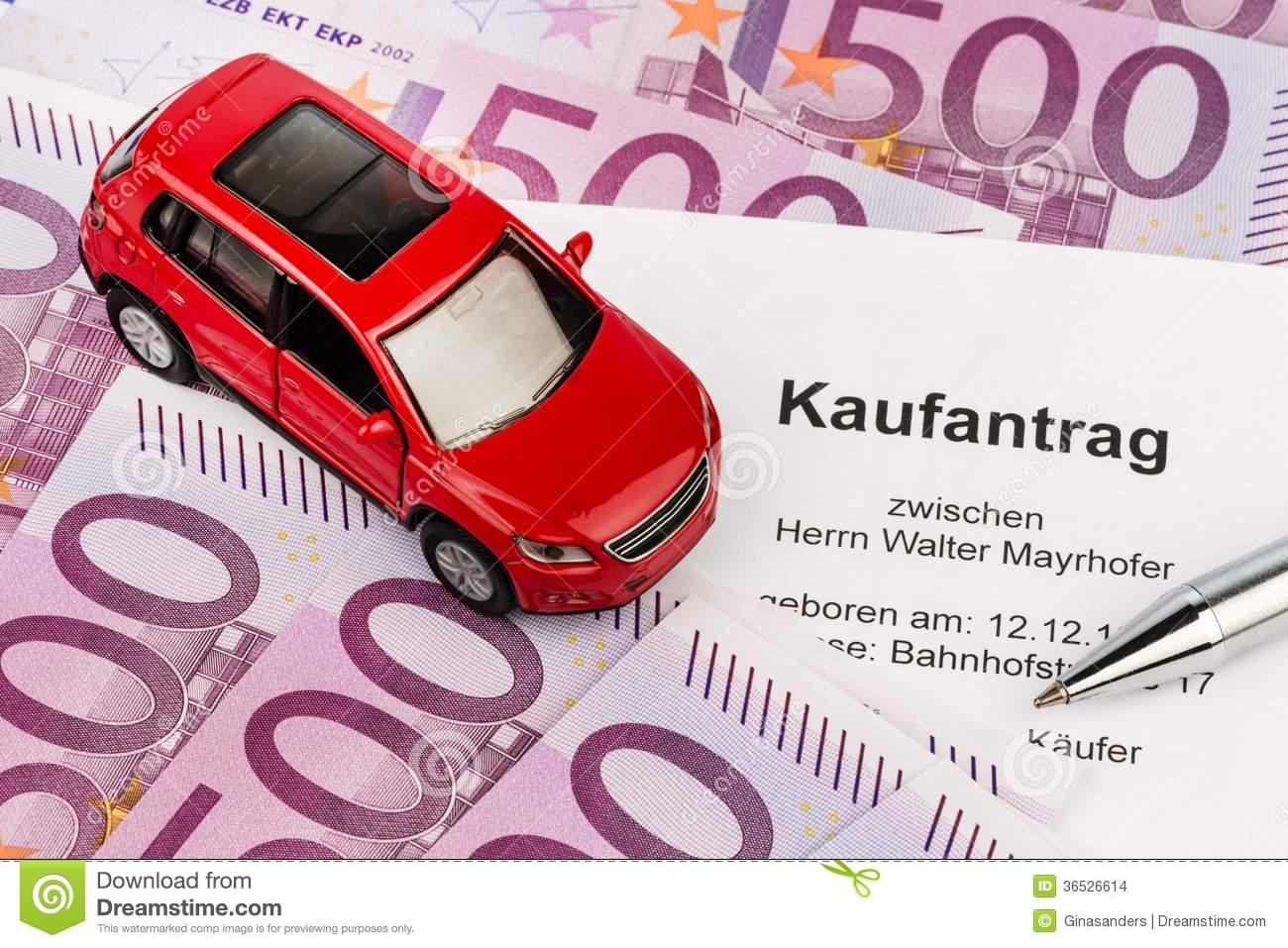 purchase agreement for car stock photo image of acquisition 36526614
