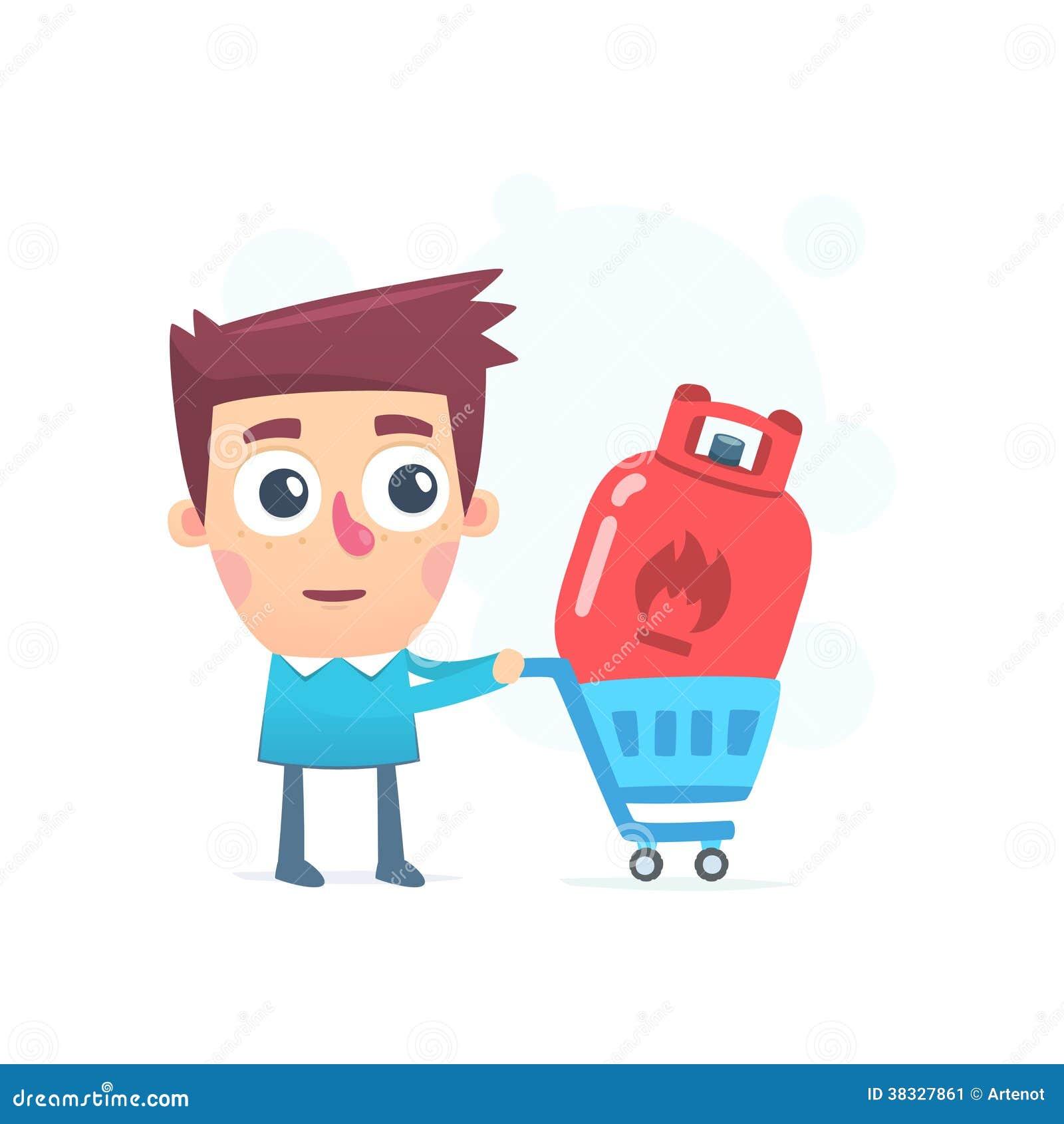 Purchasing Gas Stock Illustration Illustration Of Range 38327861