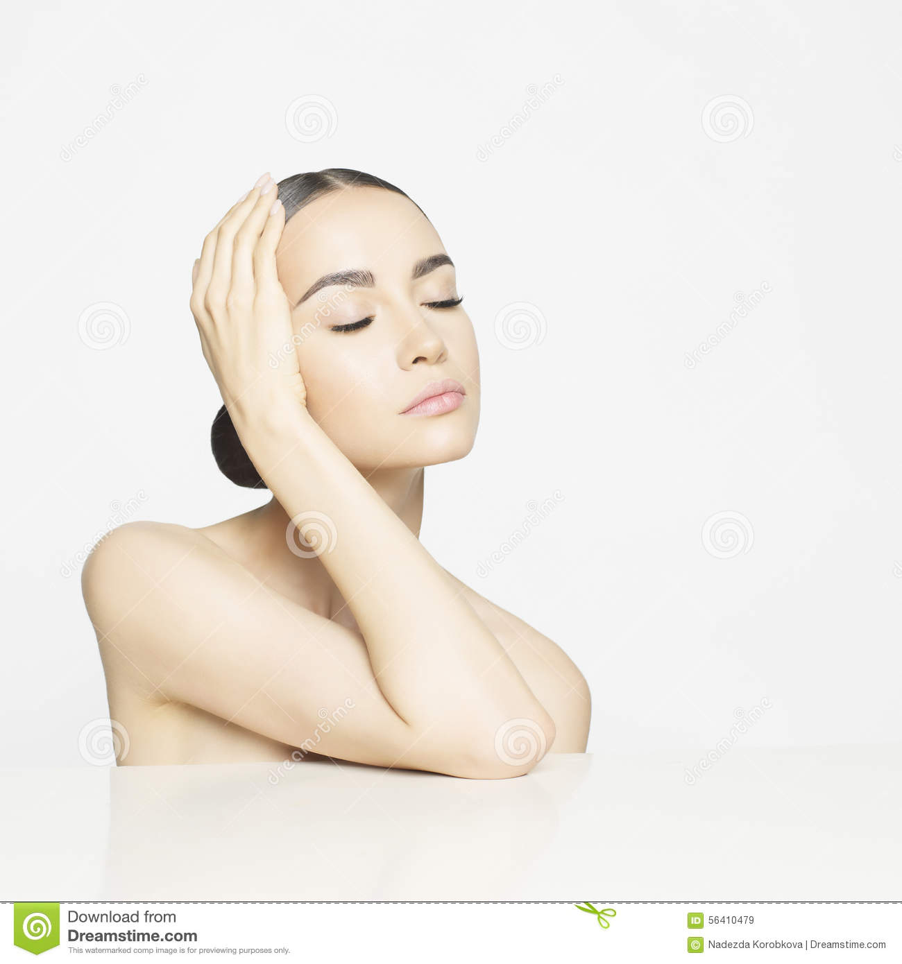 Pure beauty stock photo image 56410479 for A skin care salon