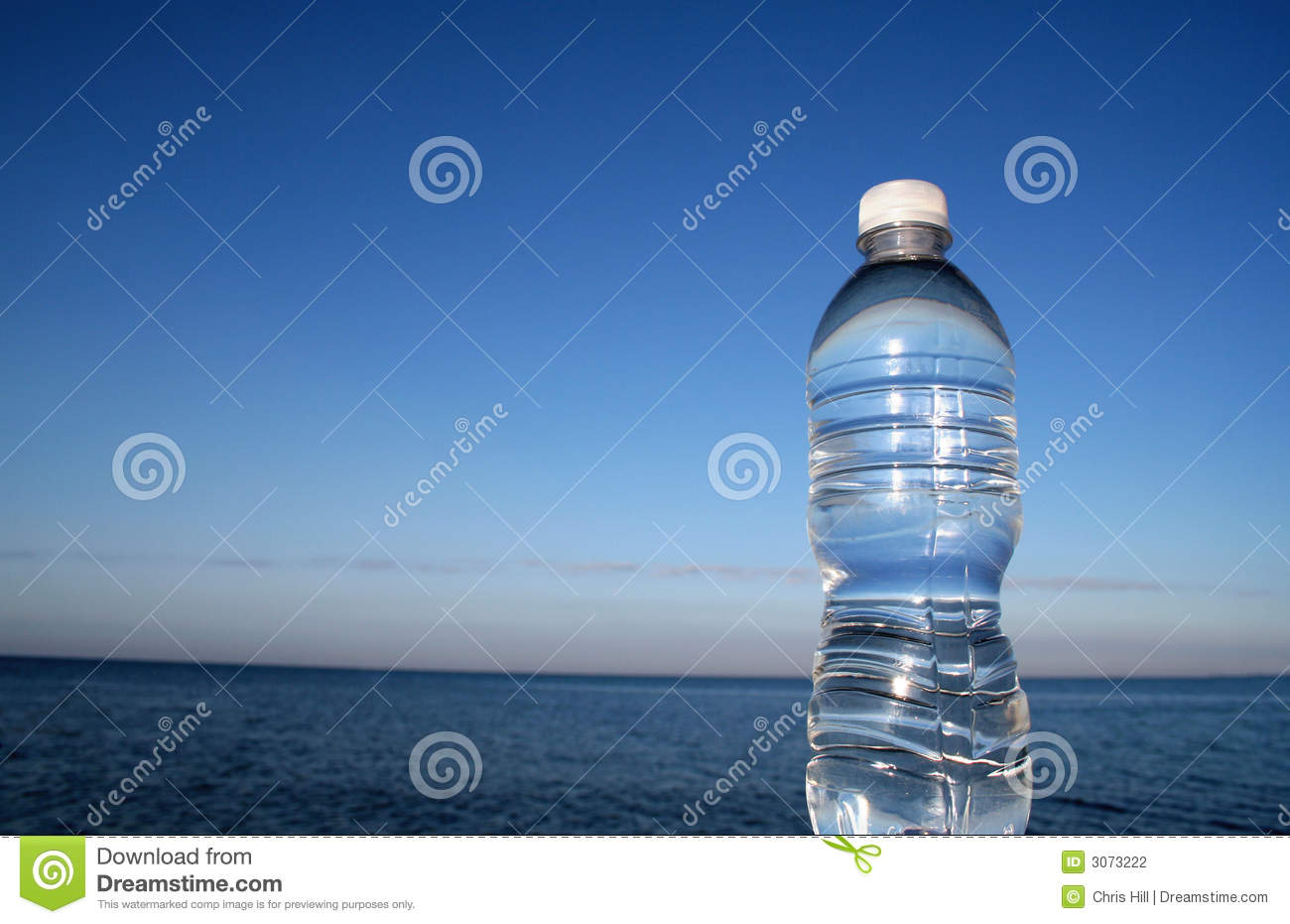 Pure Blue Water Stock Photography - Image: 3073222