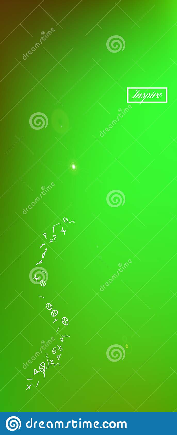 Colorful abstract ultra wide space background