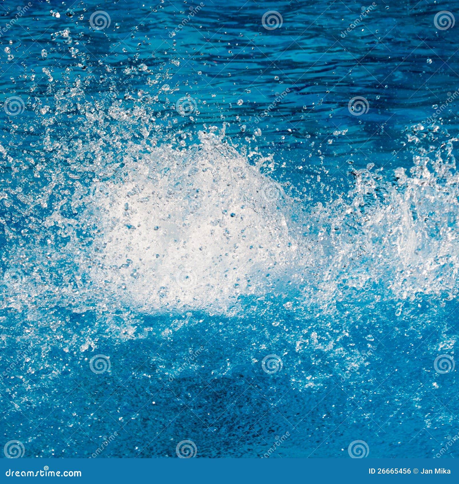 Pure Water Splash Roya... Water Energy Clipart