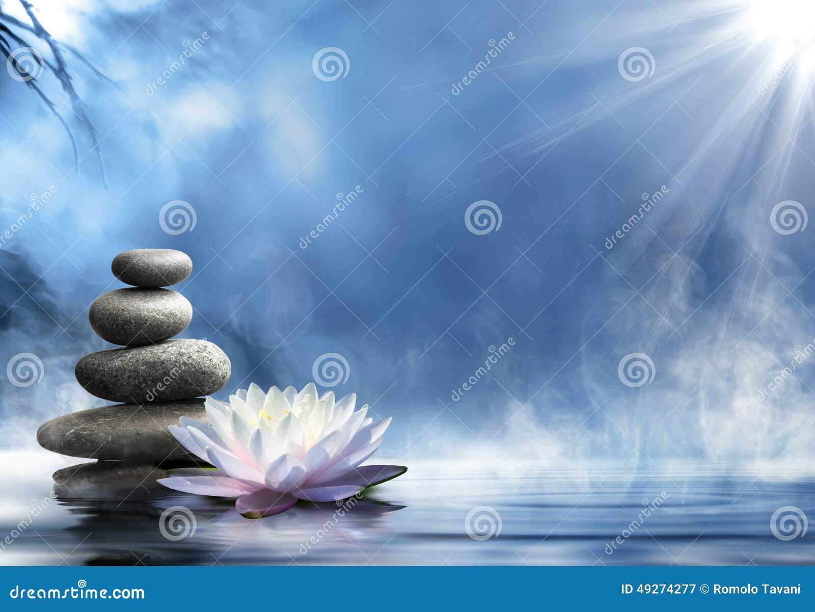 Pureté du massage de zen