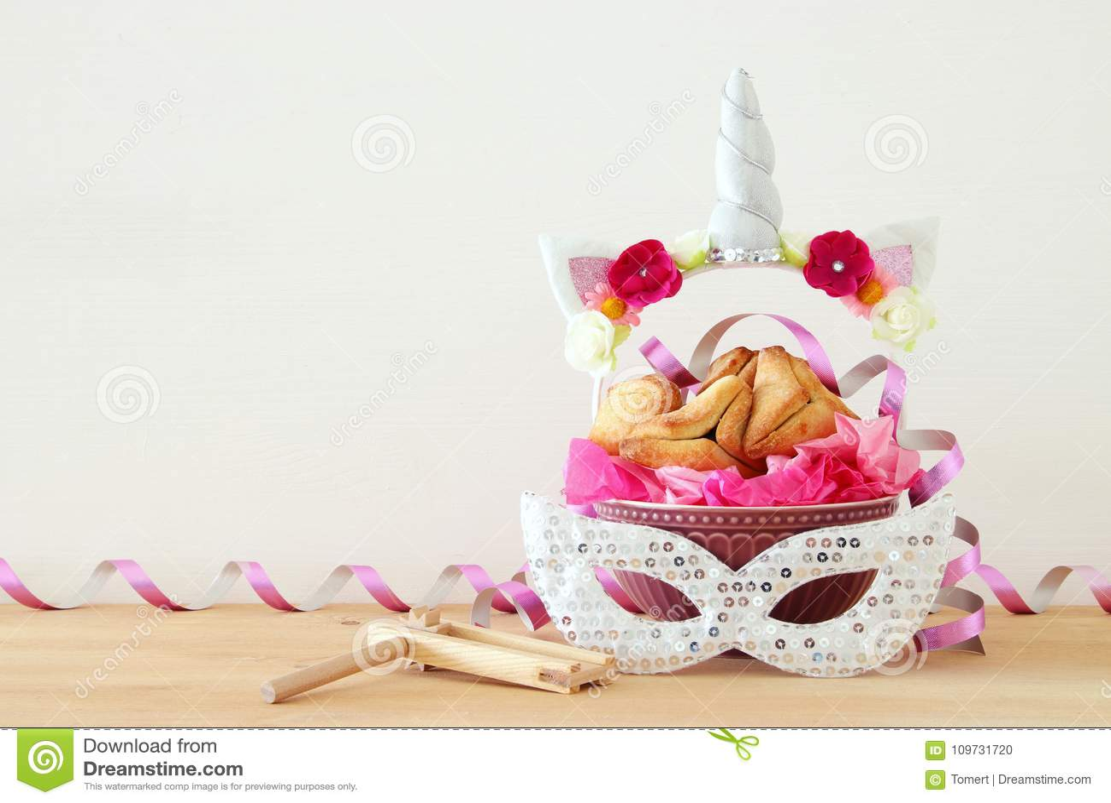 Purim świętowania pojęcie & x28; żydowski karnawałowy holiday& x29;