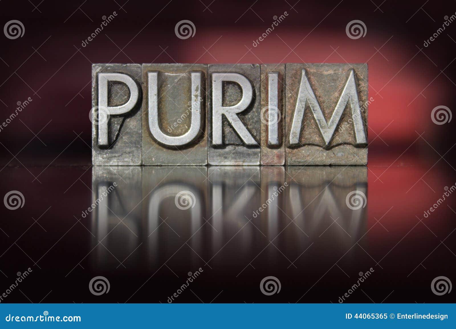 Purim-Briefbeschwerer