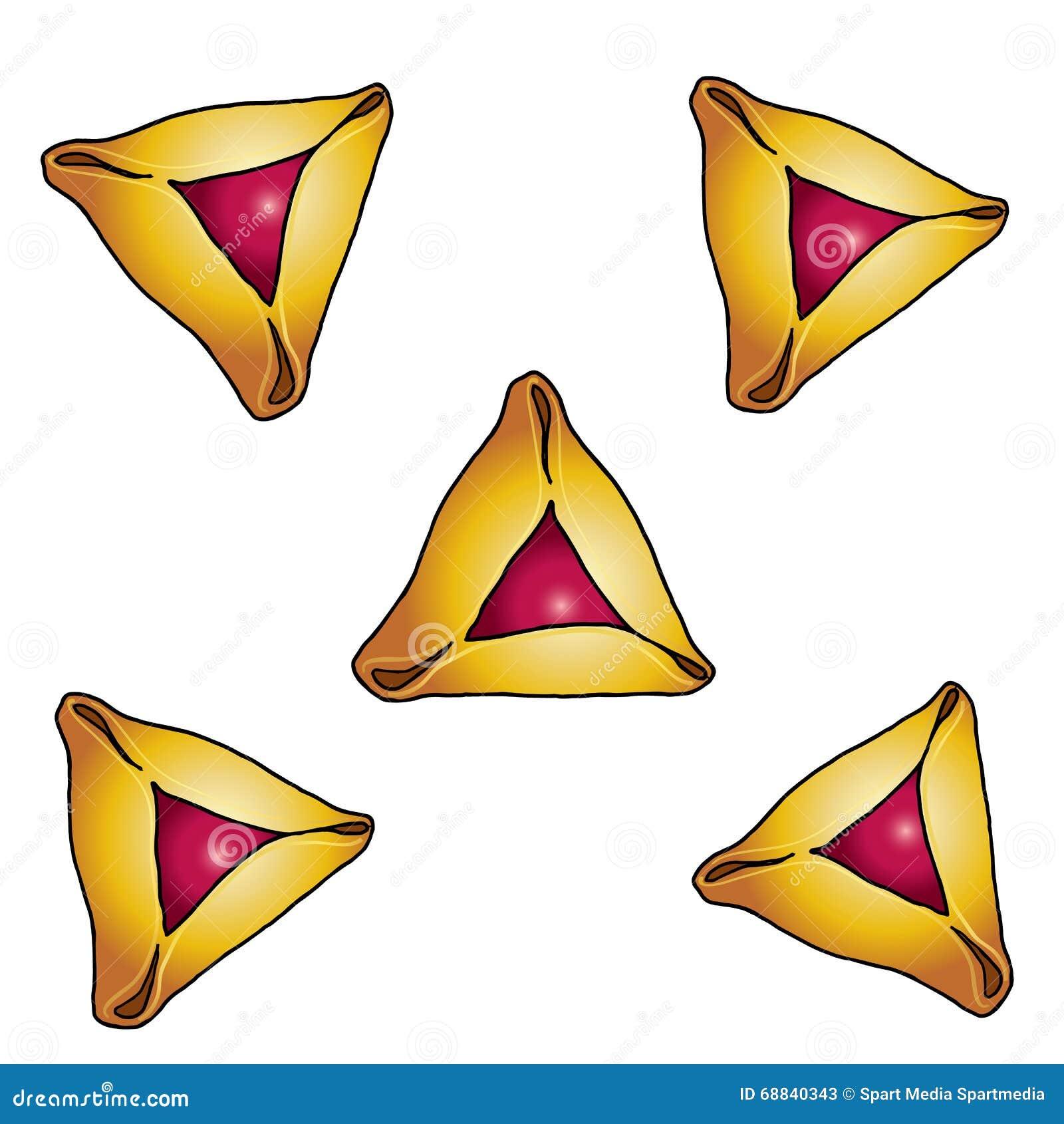 Purim Holiday Symbol Pattern Stock Vector - Image: 68840343