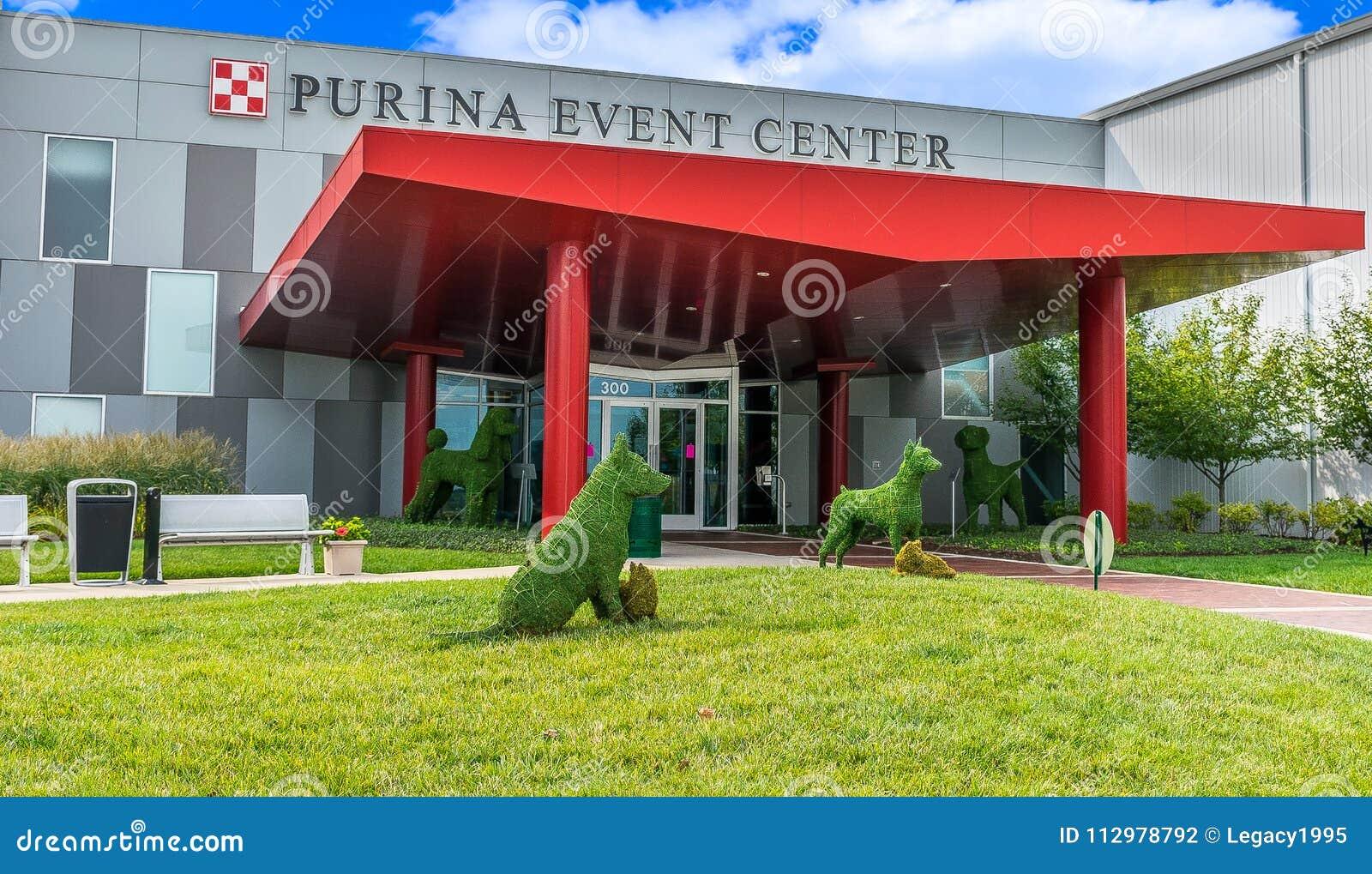 Purina Event Center Entrance Exterior