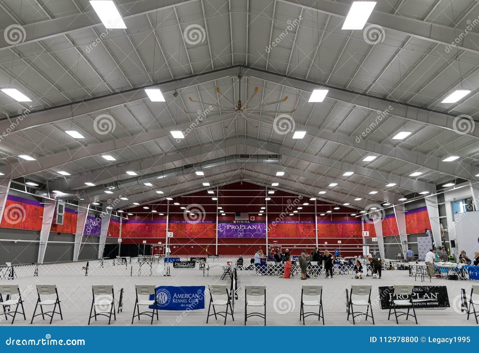 Purina Event Center Interior