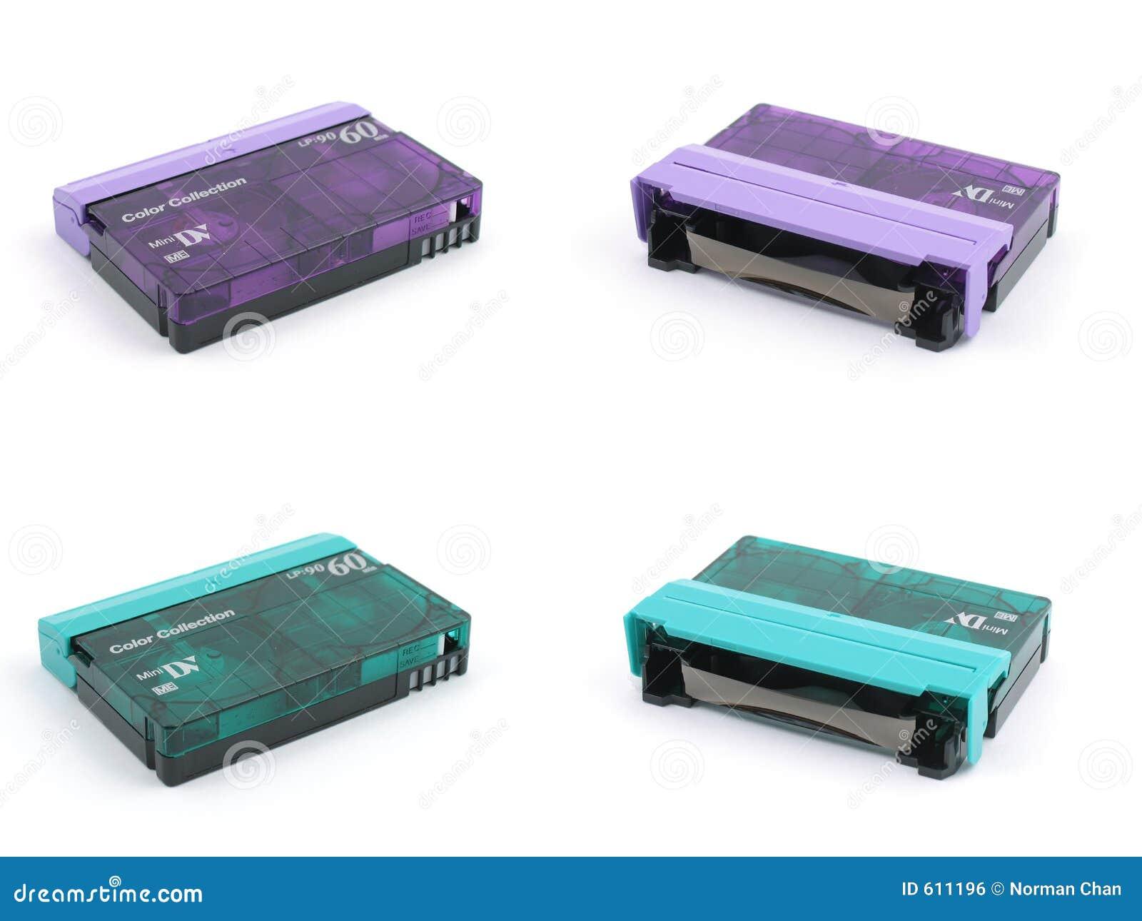 Purpere & groene miniband DV