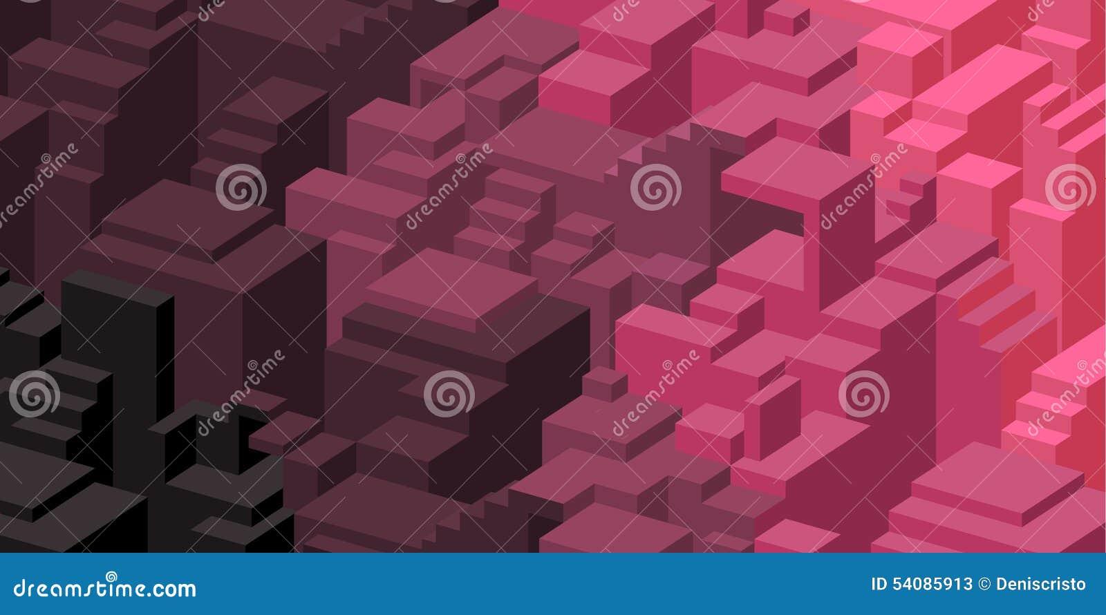 Purpere en roze ontwerpachtergrond