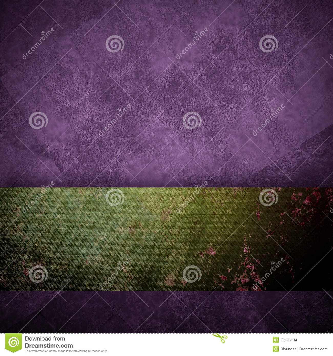 Purple Background Black Design With Vintage Grunge Background