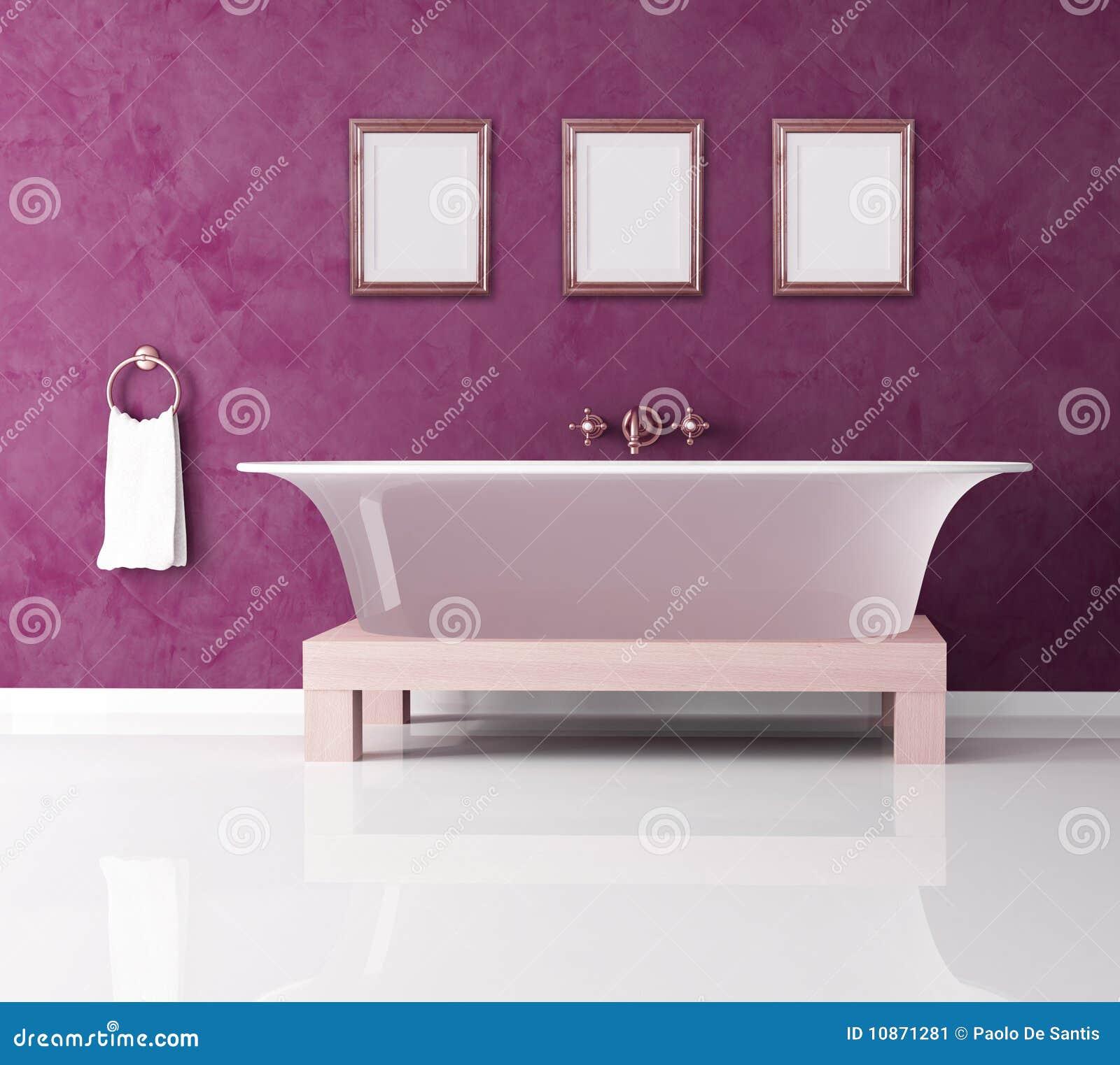 Purple Bathroom Pictures - Purple bathroom