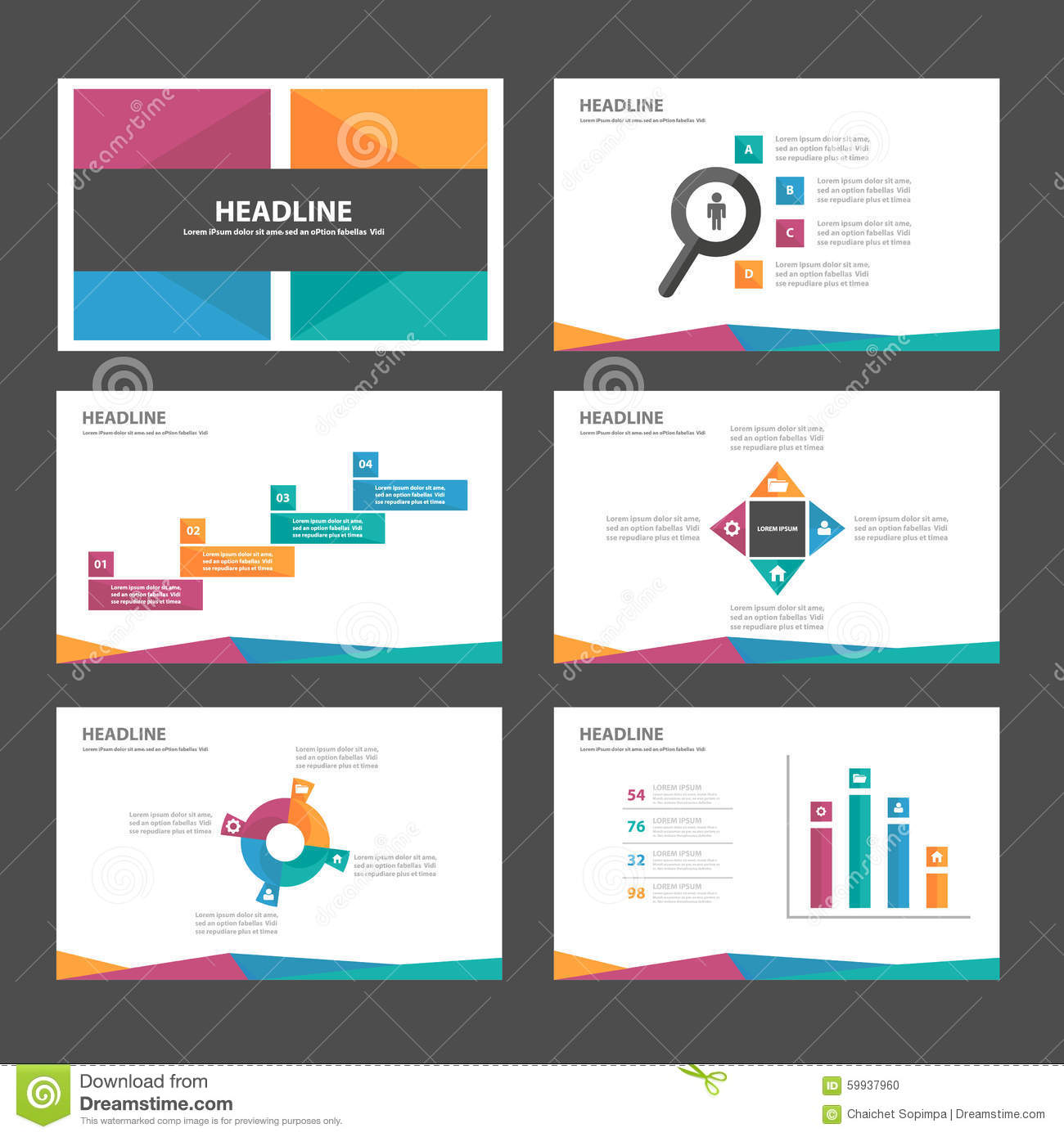 marketing presentation template
