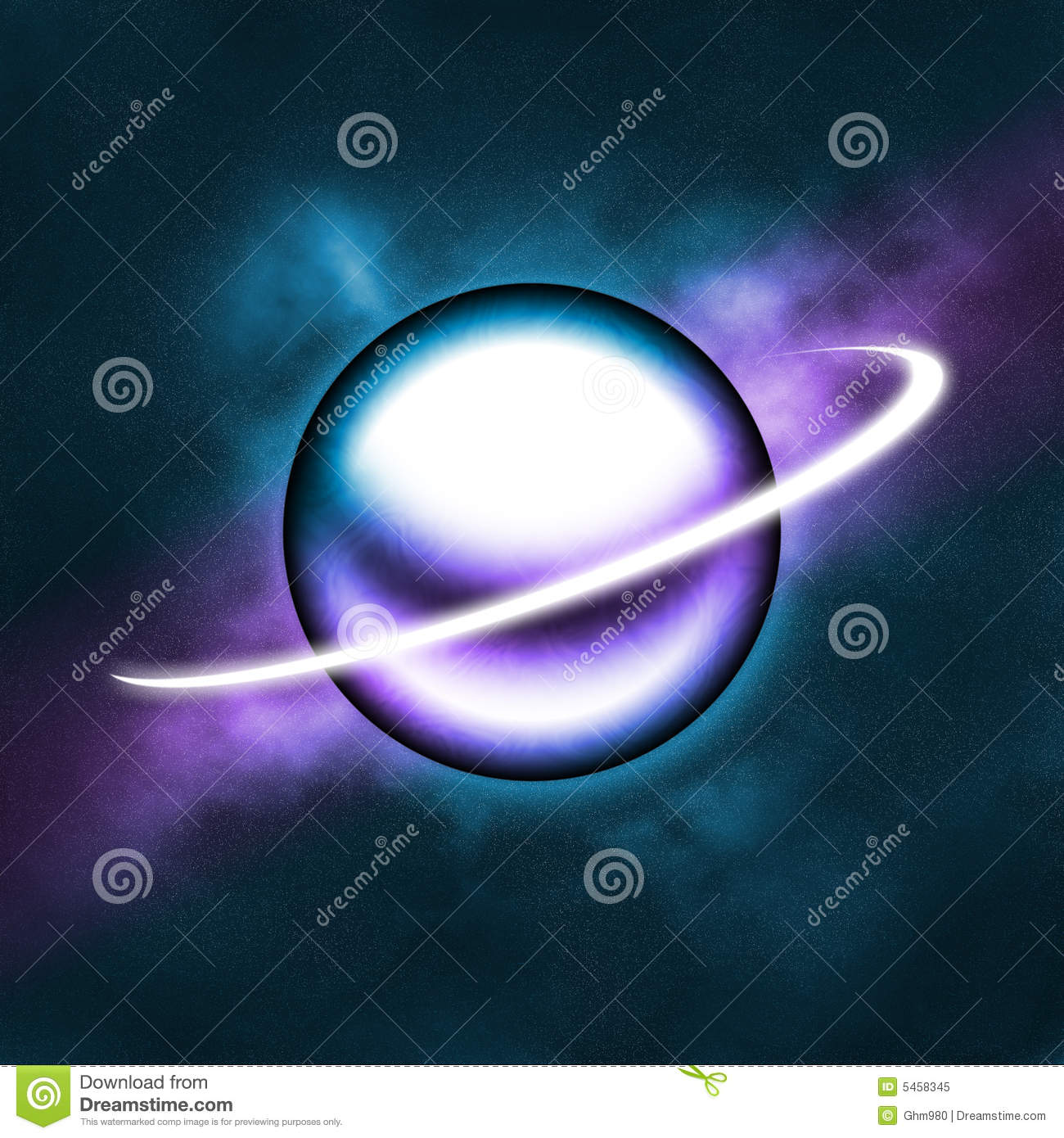 purple and blue planets - photo #8