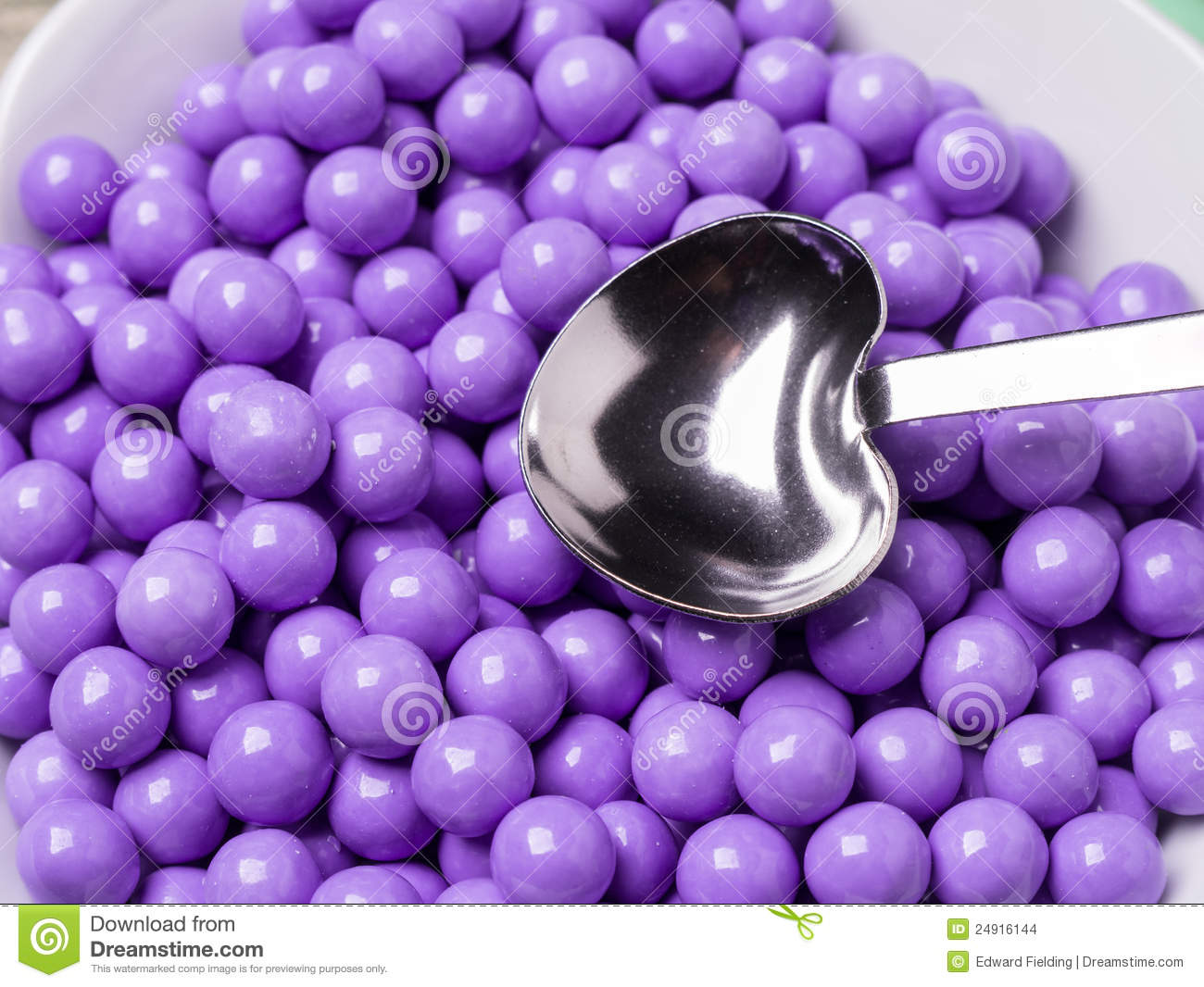 Purple Candy Covered Chocolates Stock Images Image 24916144