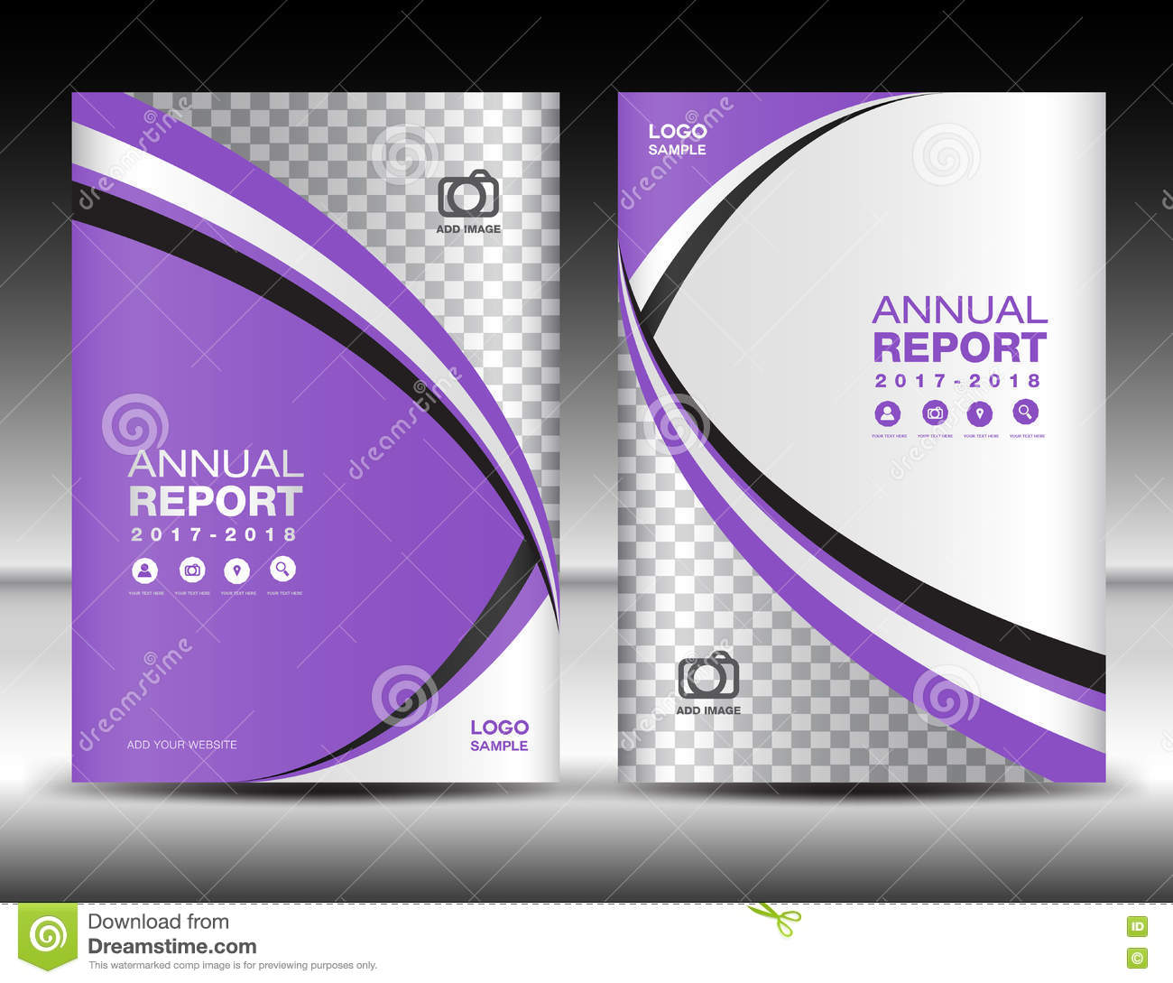 purple cover template cover annual report cover design busines