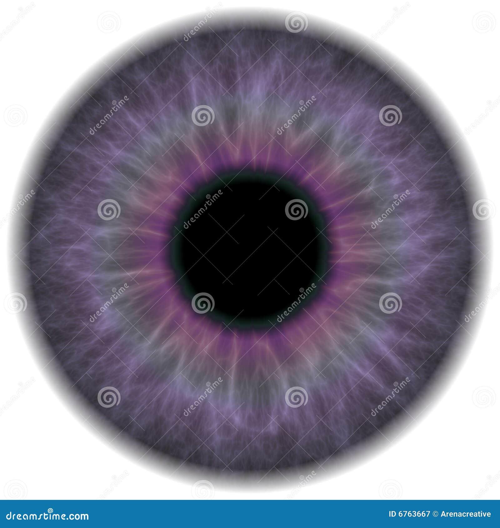 Natural Violet Red Eyes