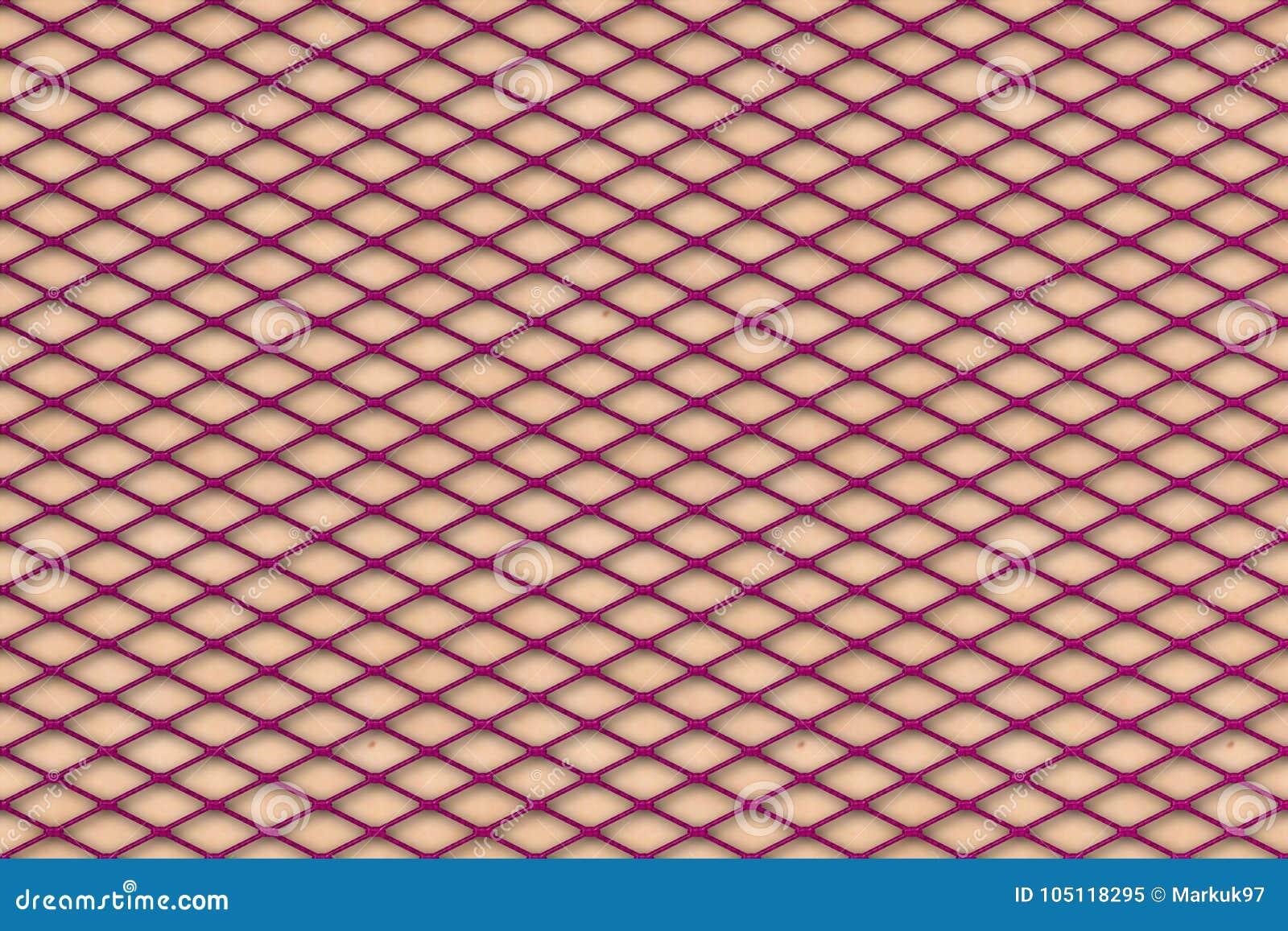 df8ade3aa77 Purple Fishnet Texture On Pale Skin Stock Illustration ...