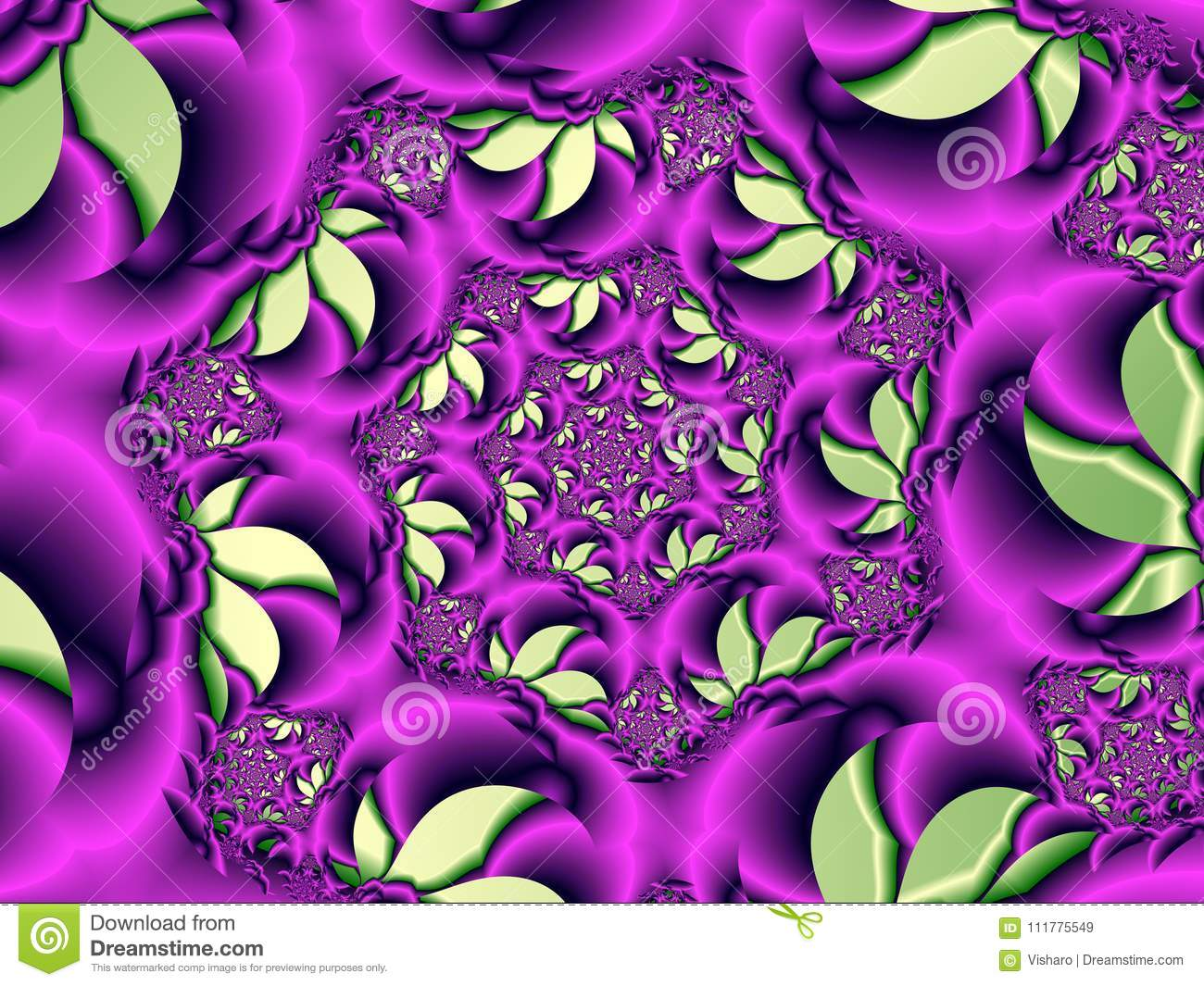 Purple Floral Pattern