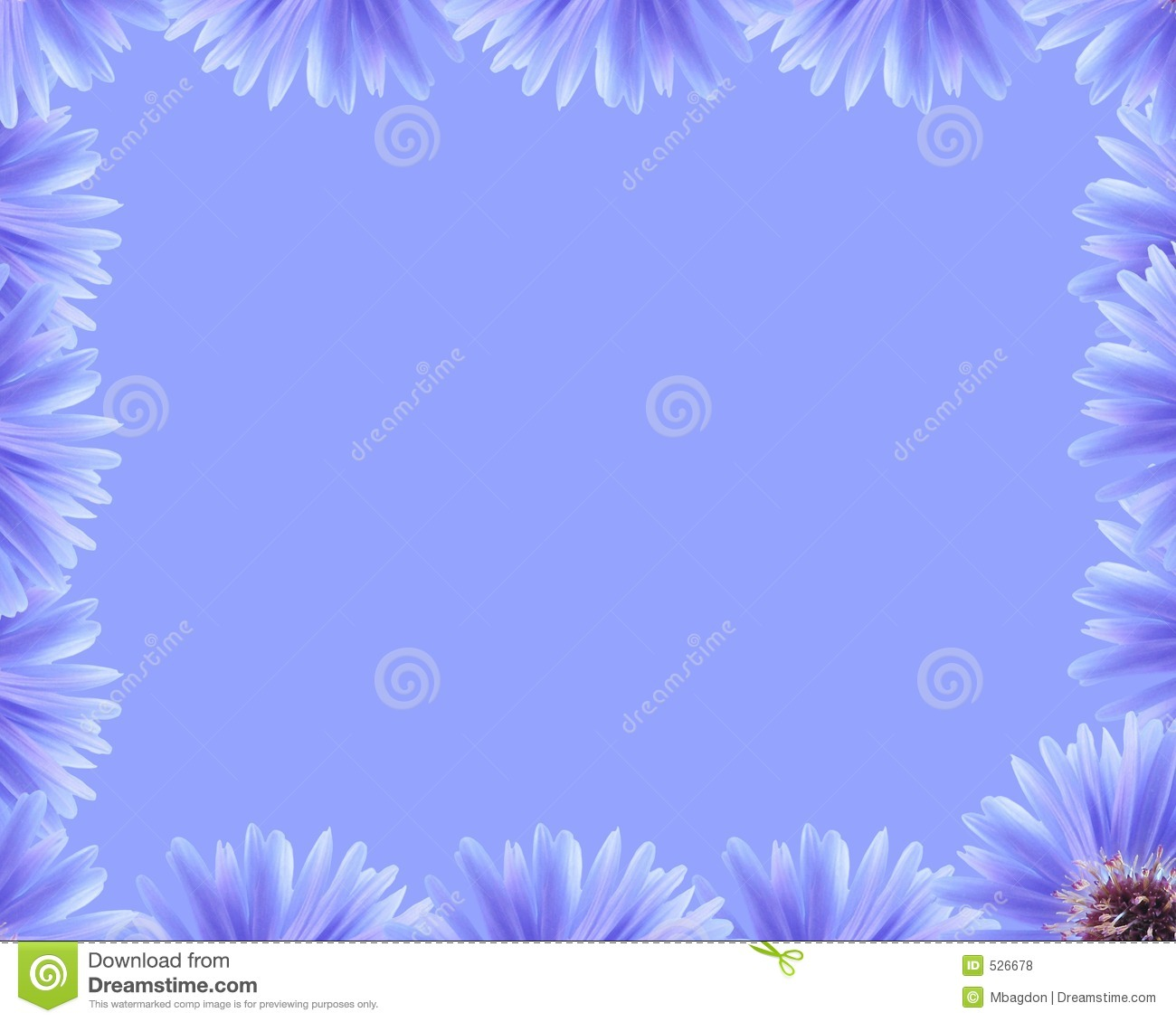 Purple Flower Border Royalty Free Stock Photos - Image: 526678: www.dreamstime.com/royalty-free-stock-photos-purple-flower-border...