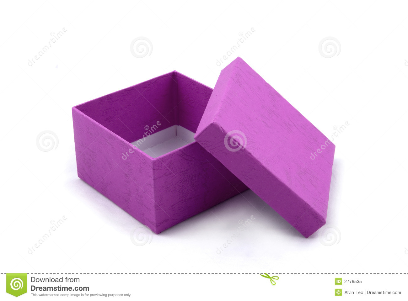 Purple gift box royalty free stock photo image