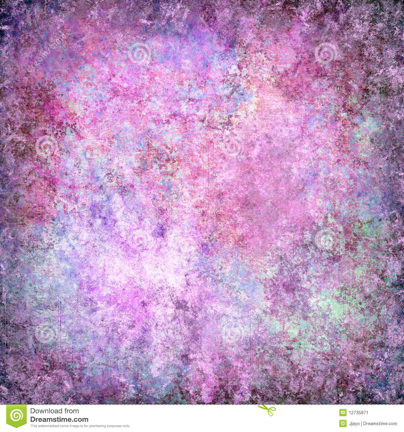 Purple Grunge Textured Abstract Background Stock Image - Image