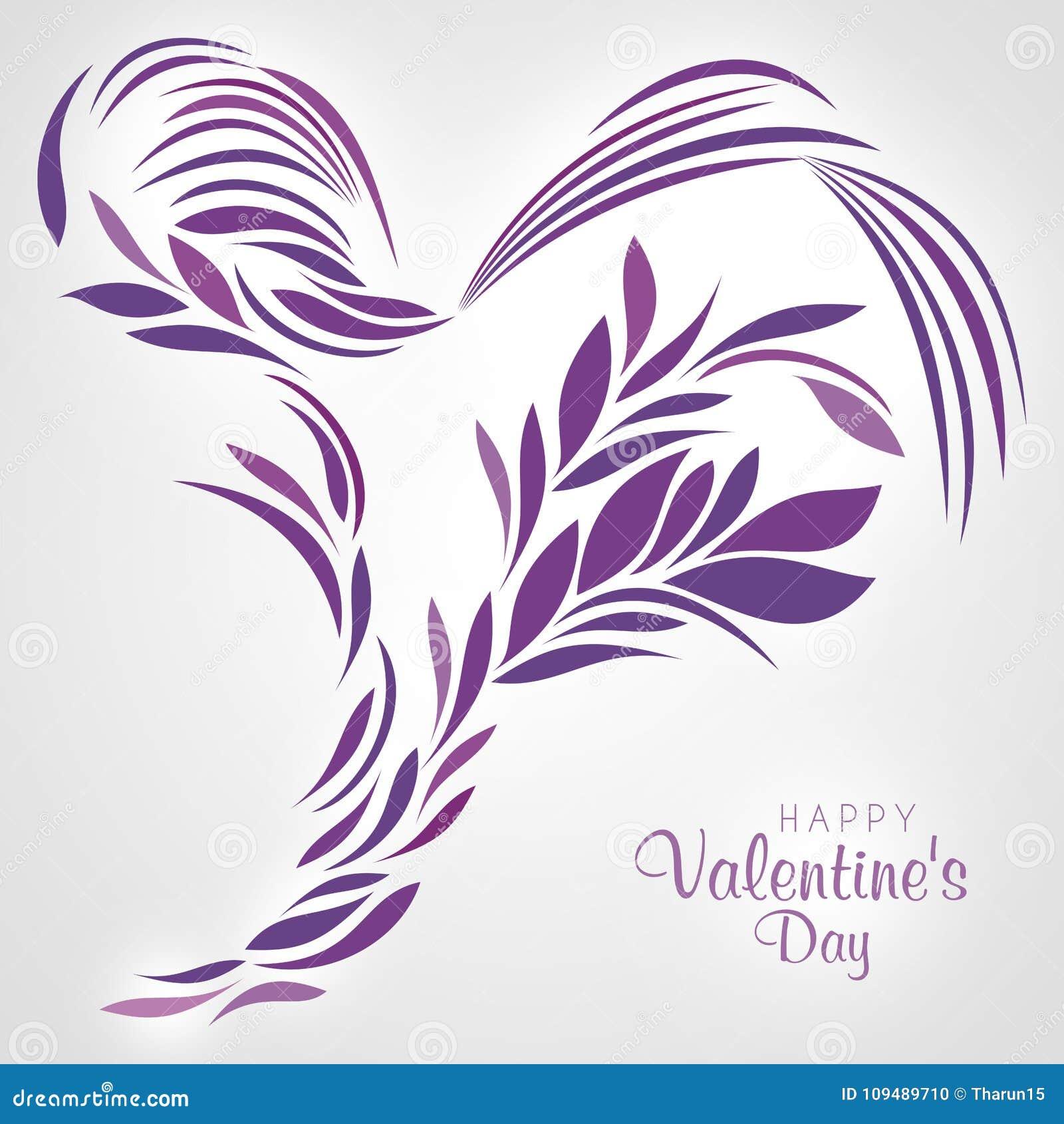 Purple Heart projektował z abstrakcjonistycznymi liniami i liśćmi