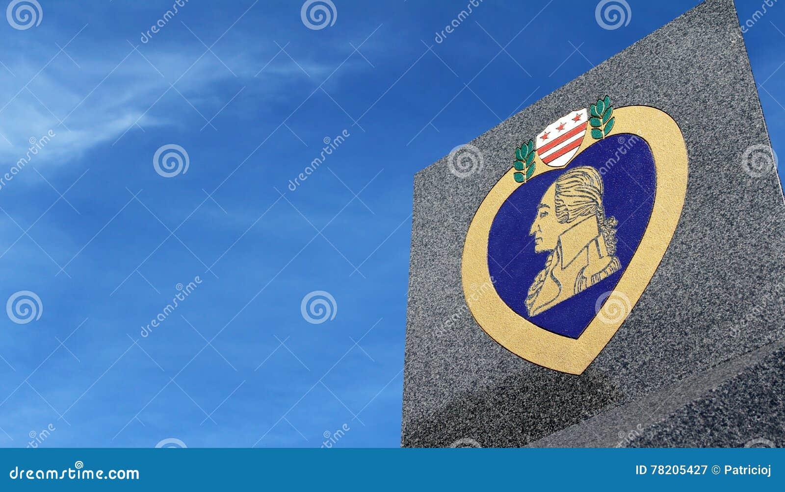 Purple heart symbol with copy space on sky editorial photography purple heart symbol with copy space on sky buycottarizona